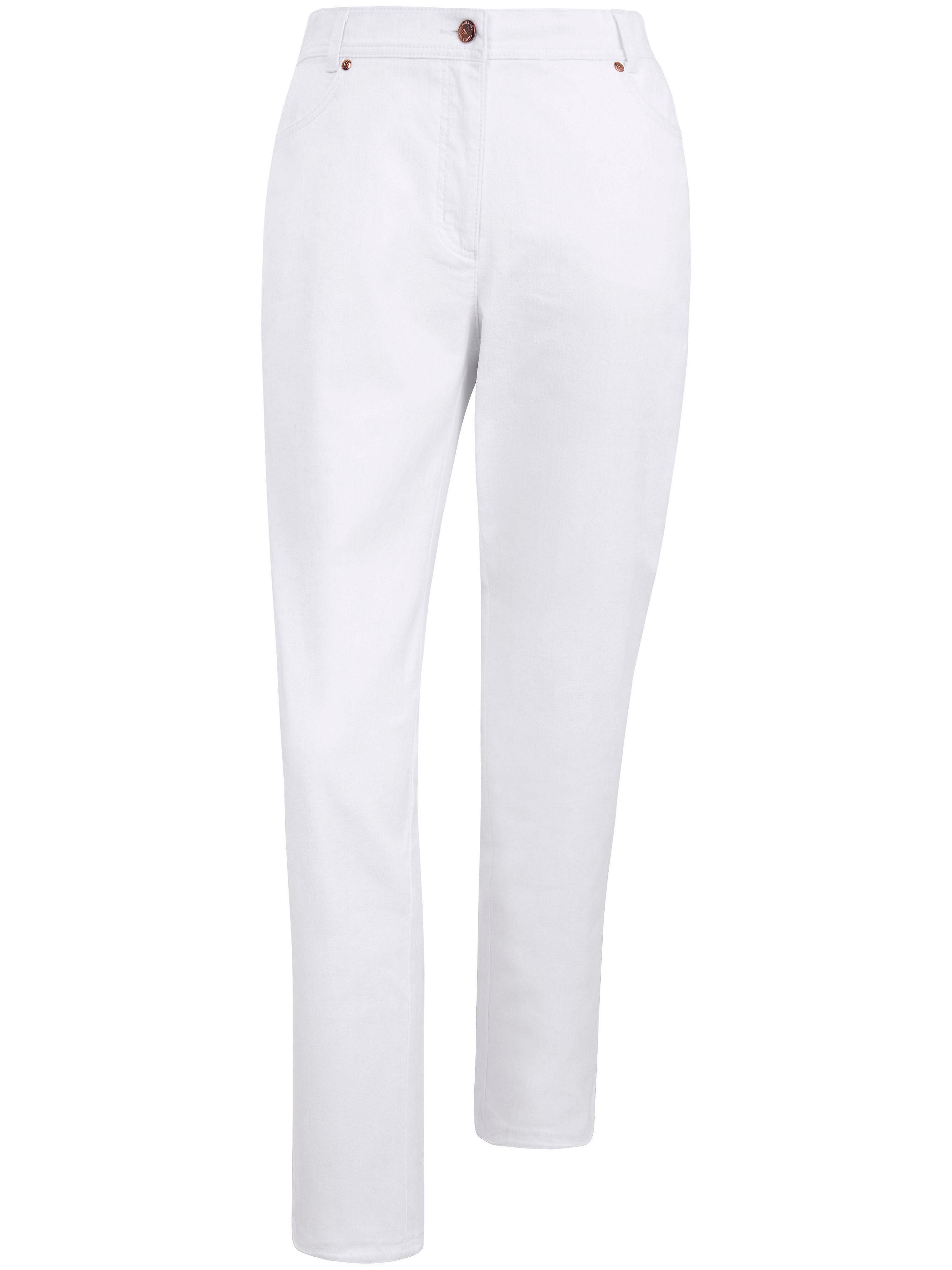 Image of   7/8-jeans Fra Emilia Lay hvid