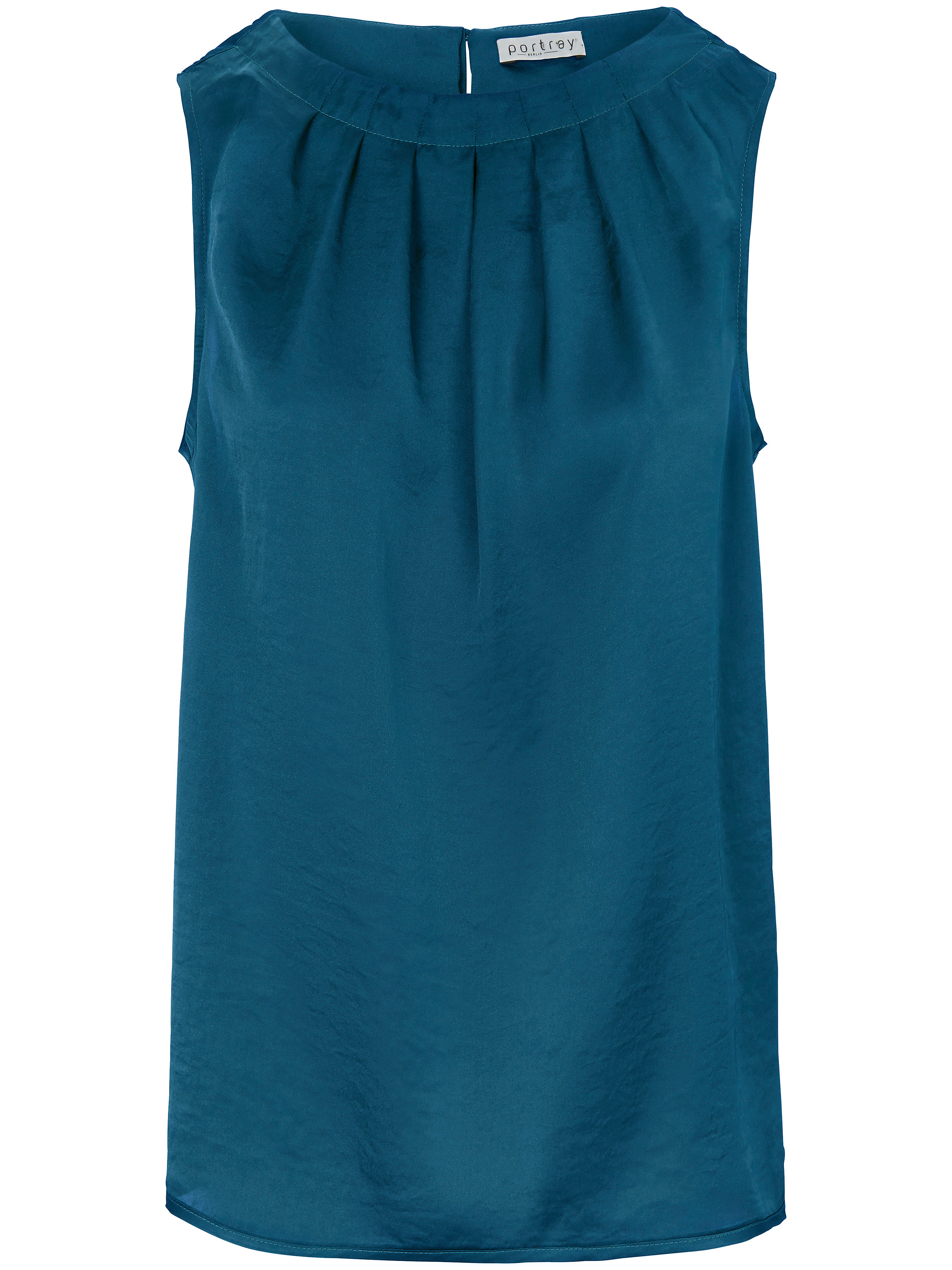 Le top  portray berlin turquoise taille 44