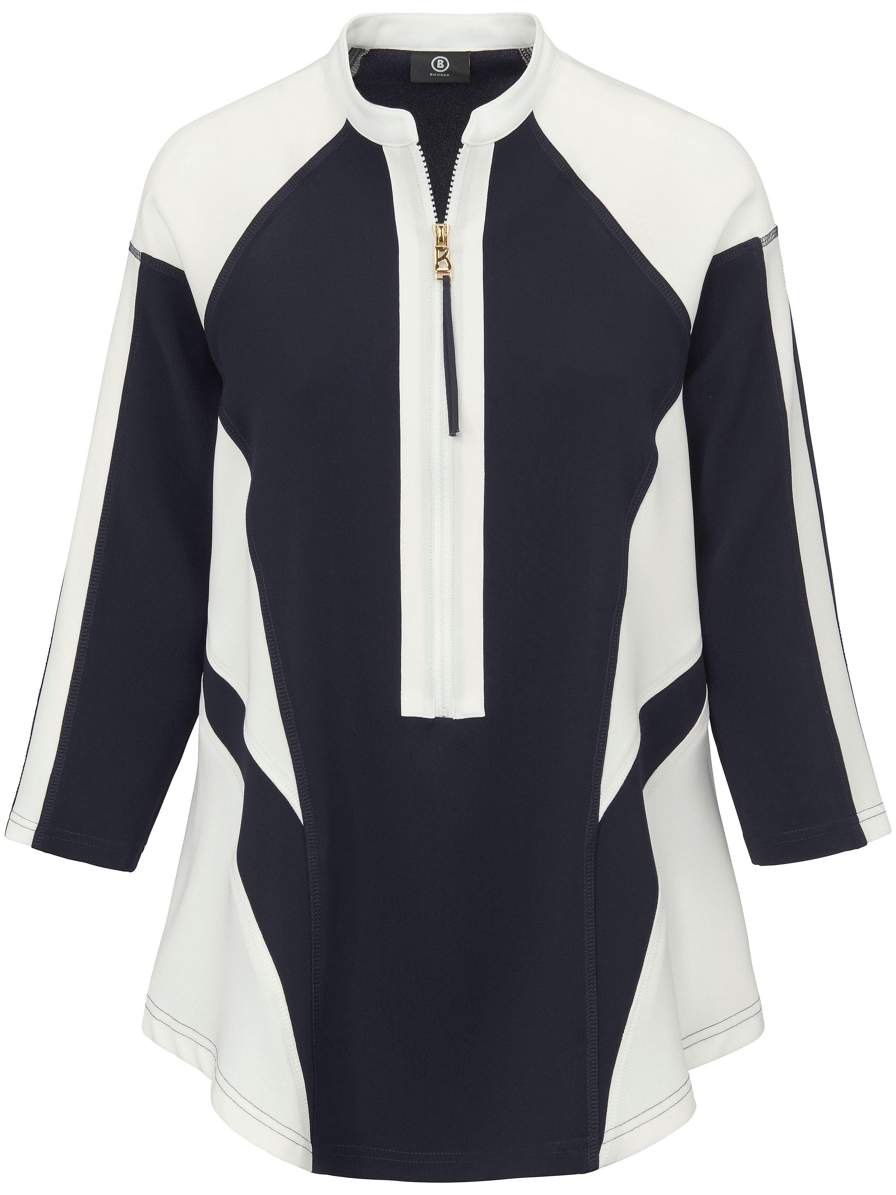 Image of   Bluse-shirt 3/4-ærmer Fra Bogner multicolor