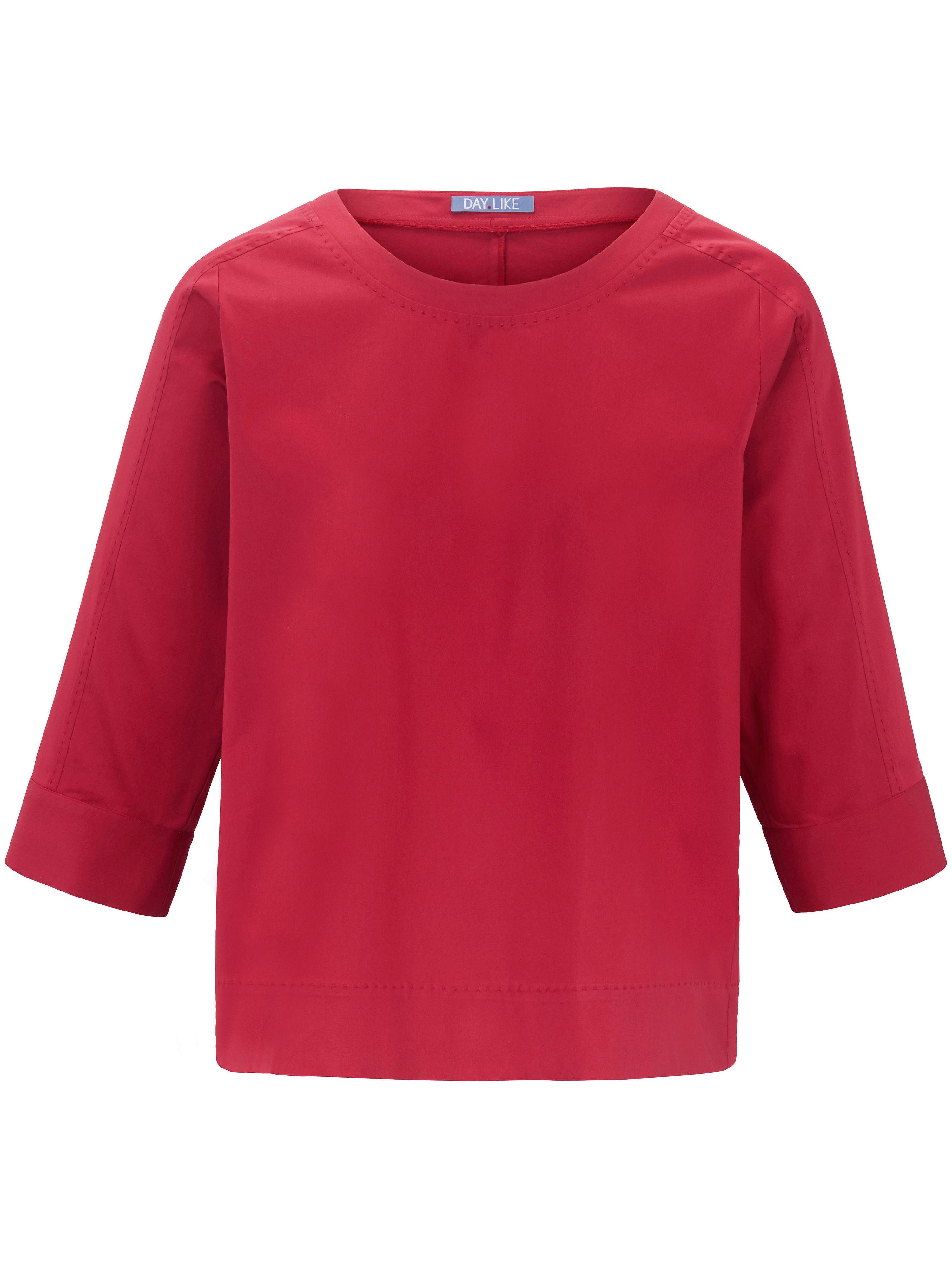 Image of   Bluse 3/4-ærmer Fra DAY.LIKE rød