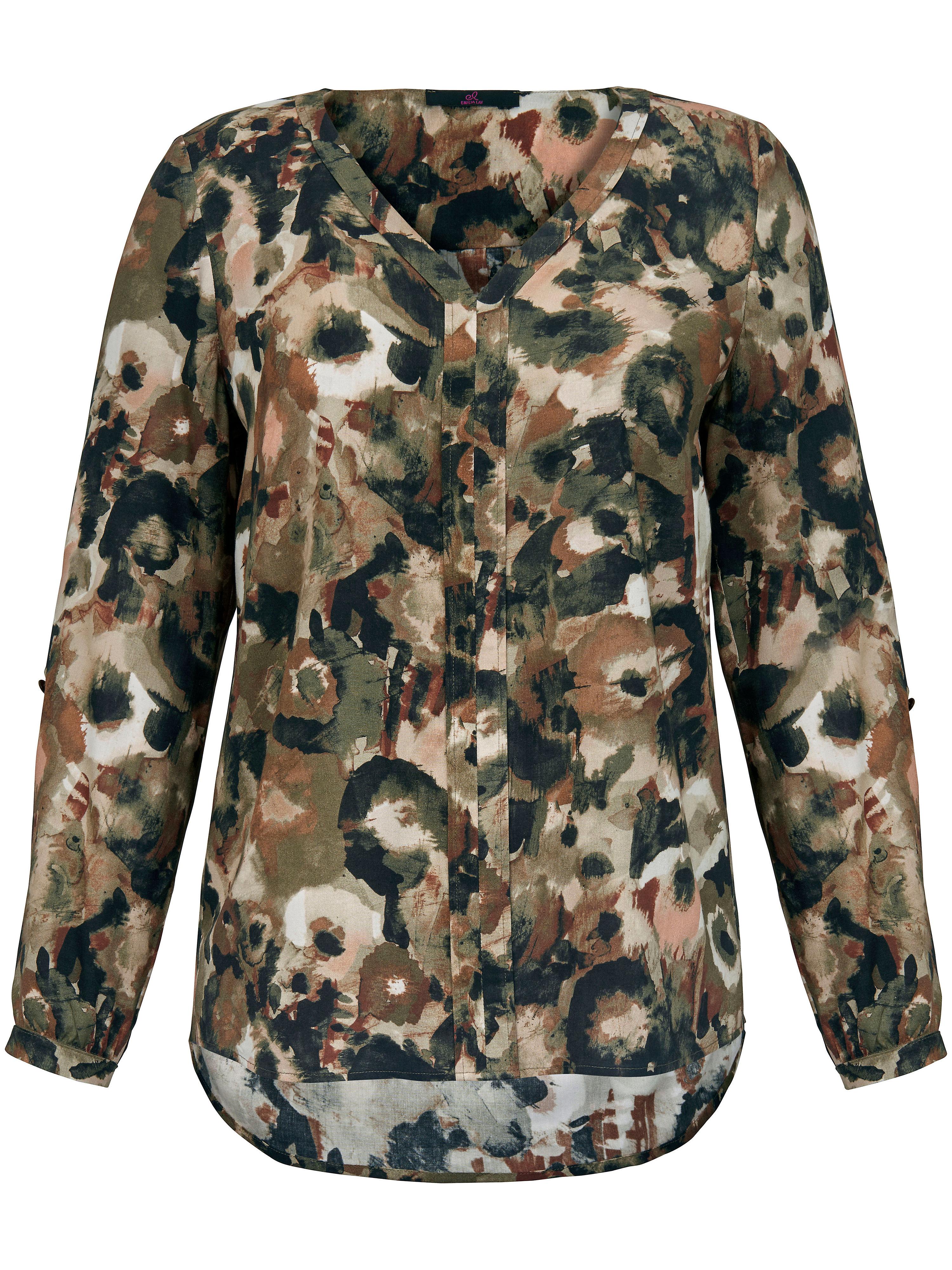 Schlupf-Bluse Emilia Lay mehrfarbig | Bekleidung > Blusen > Schlupfblusen | Print | Emilia Lay