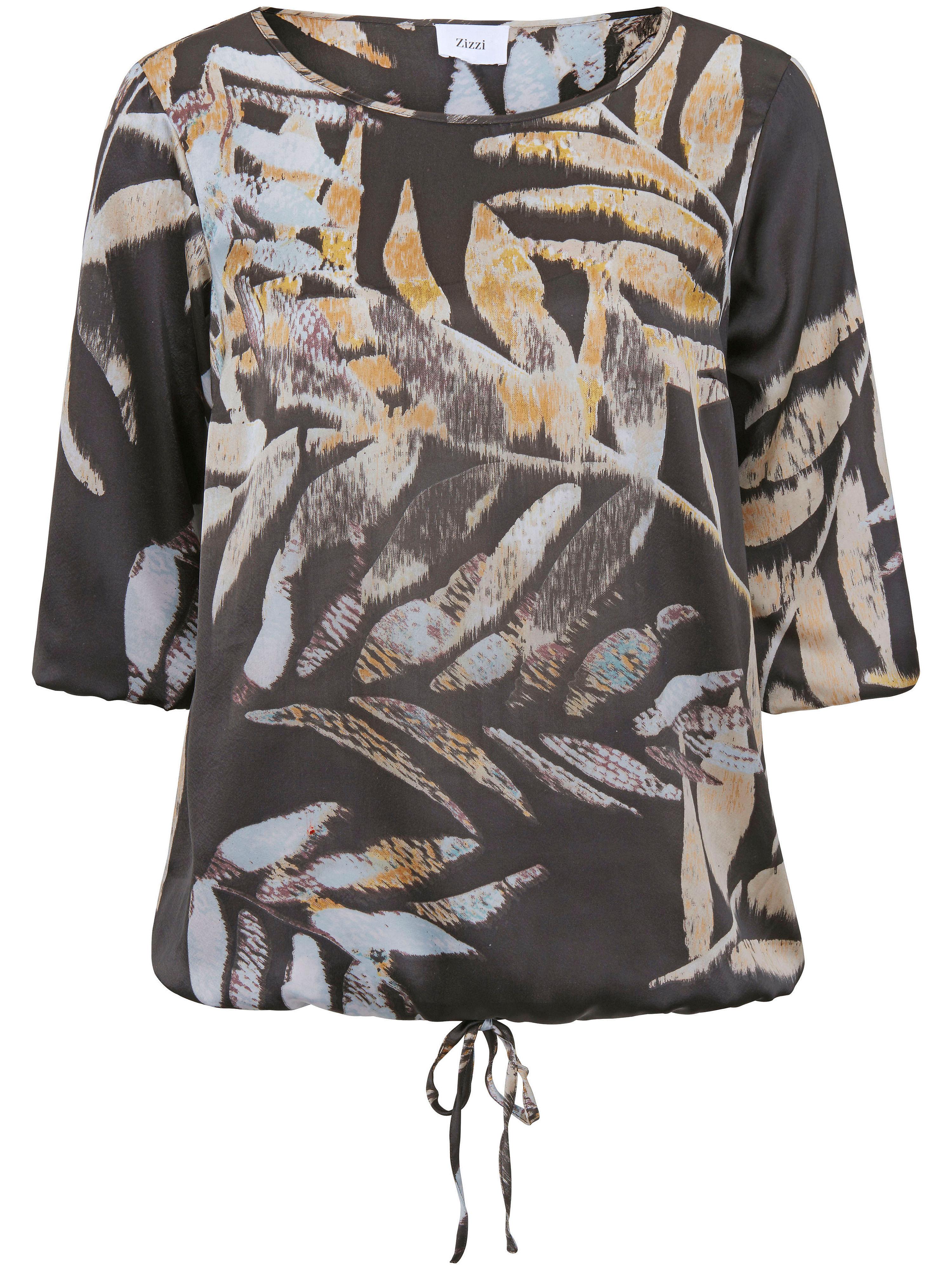 Image of   Bluse i afslappet snit Fra zizzi multicolor