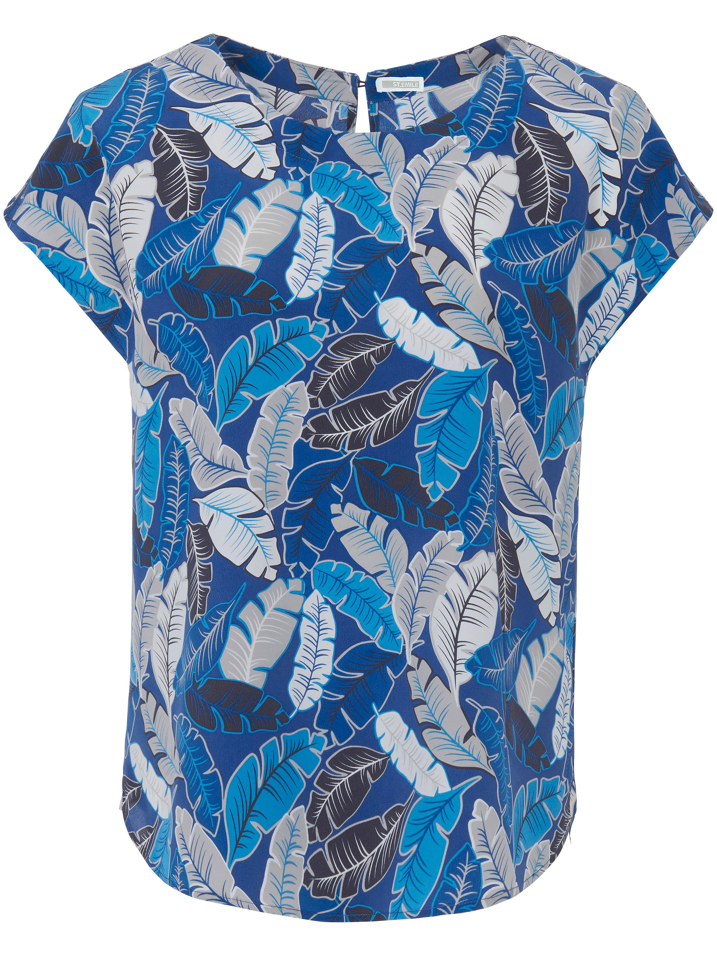 La blouse 100% soie  St. Emile multicolore taille 38