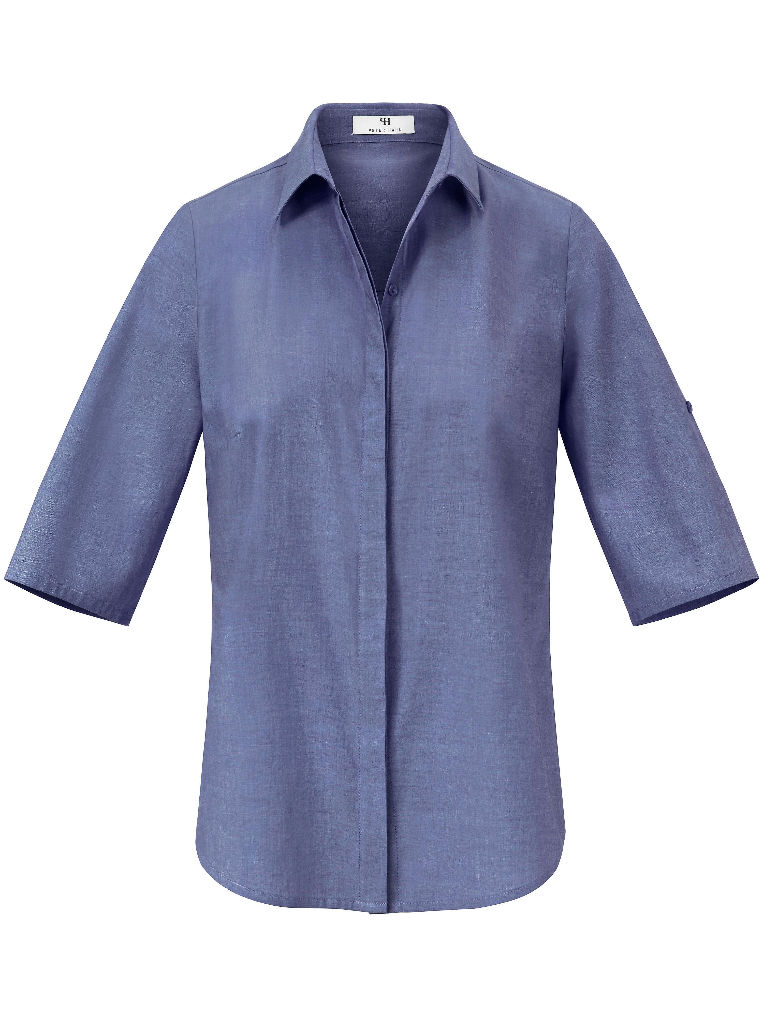 Peter Hahn Rundhalsad tröja 3/4-ärm från Peter Hahn grön