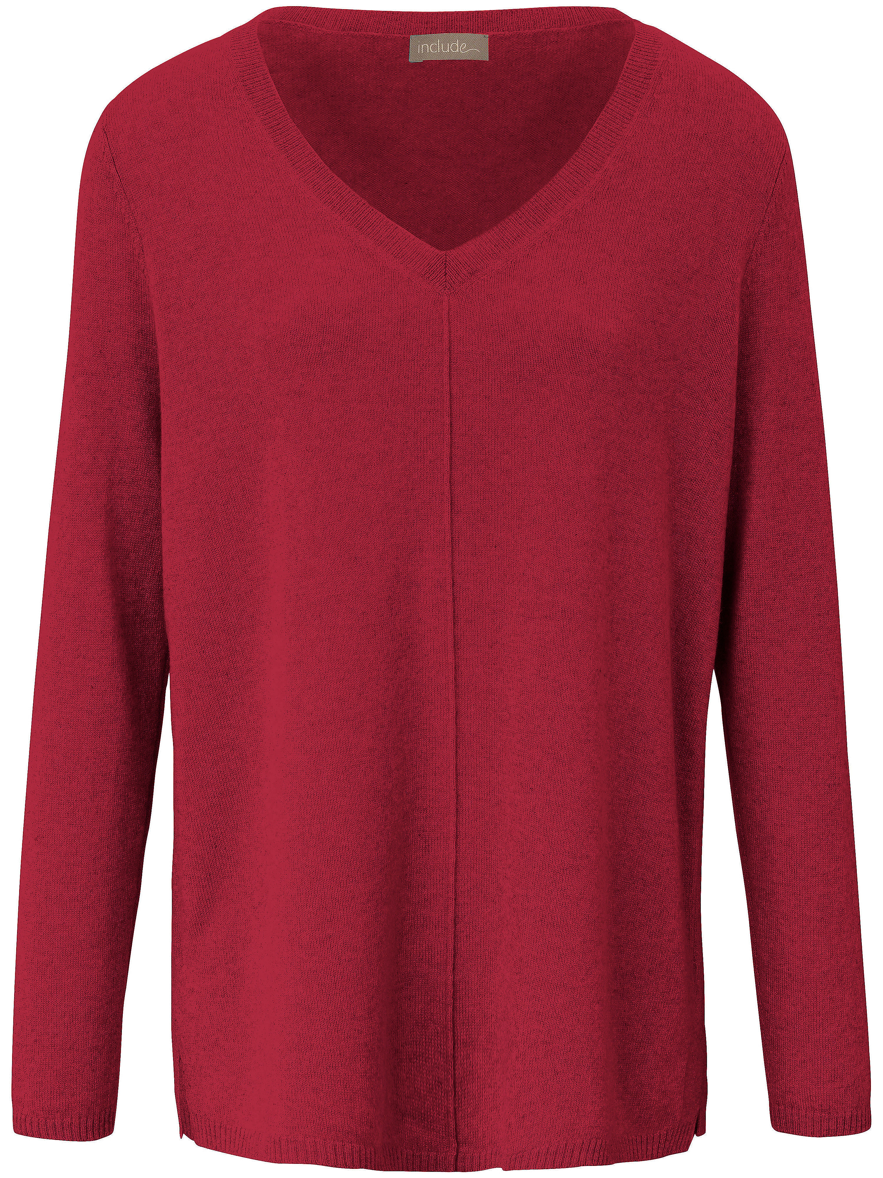 V-Pullover aus 100% PREMIUM Kaschmir include rot | Bekleidung > Pullover | include