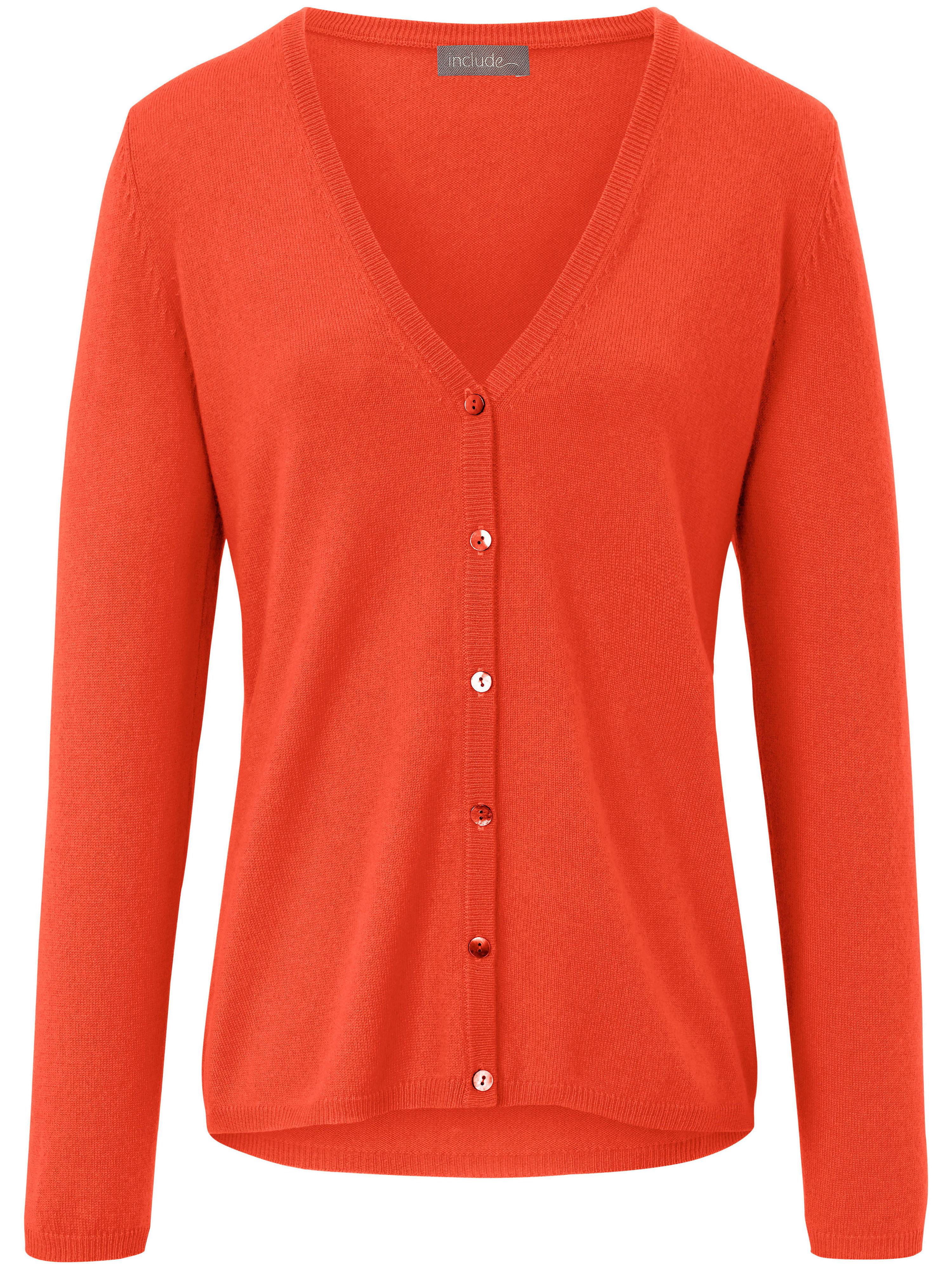 Image of   Cardigan Fra include orange