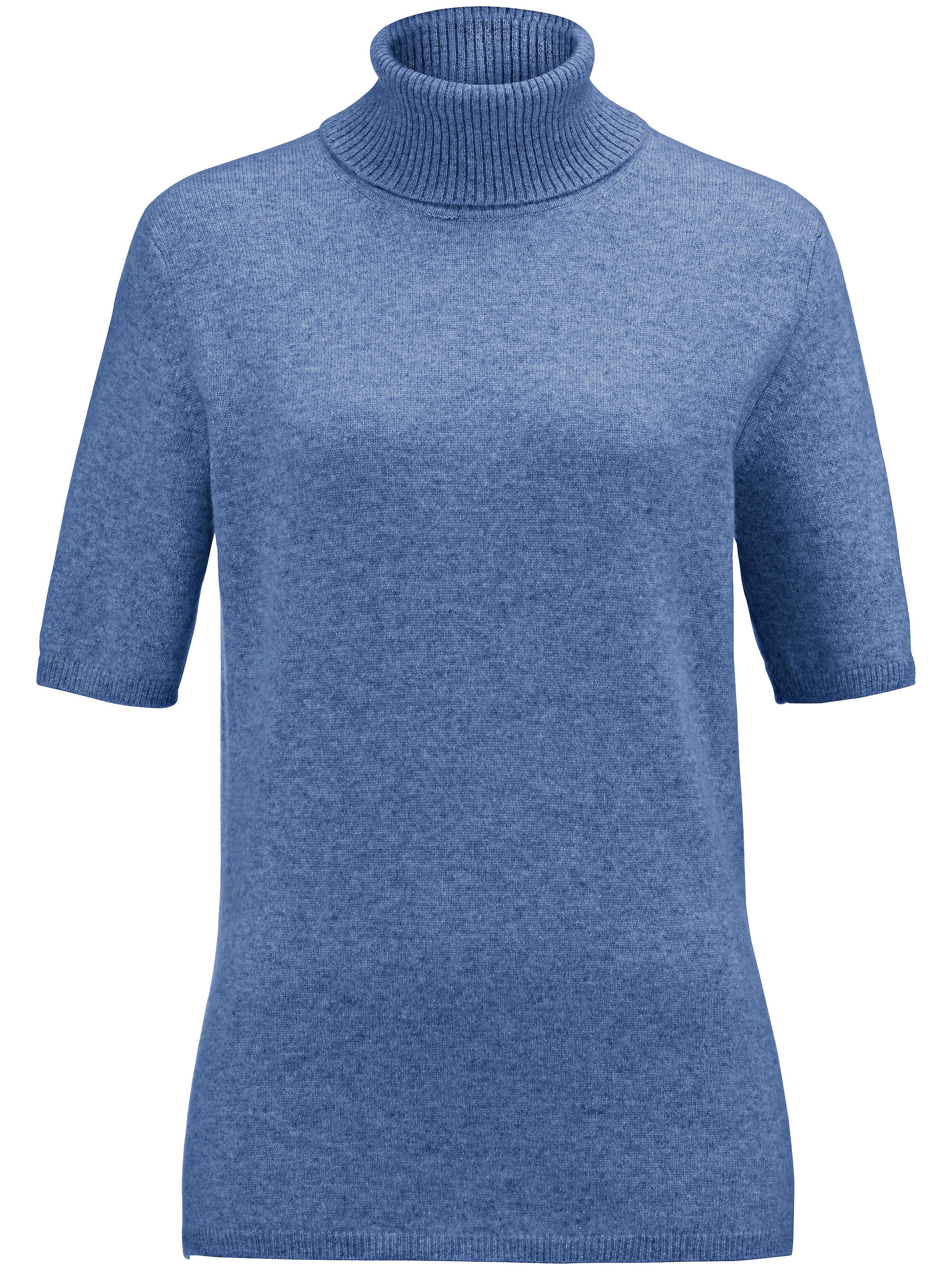 Coltrui model Rebecca van 100% kasjmier, Topkwalit Van Peter Hahn Cashmere blauw