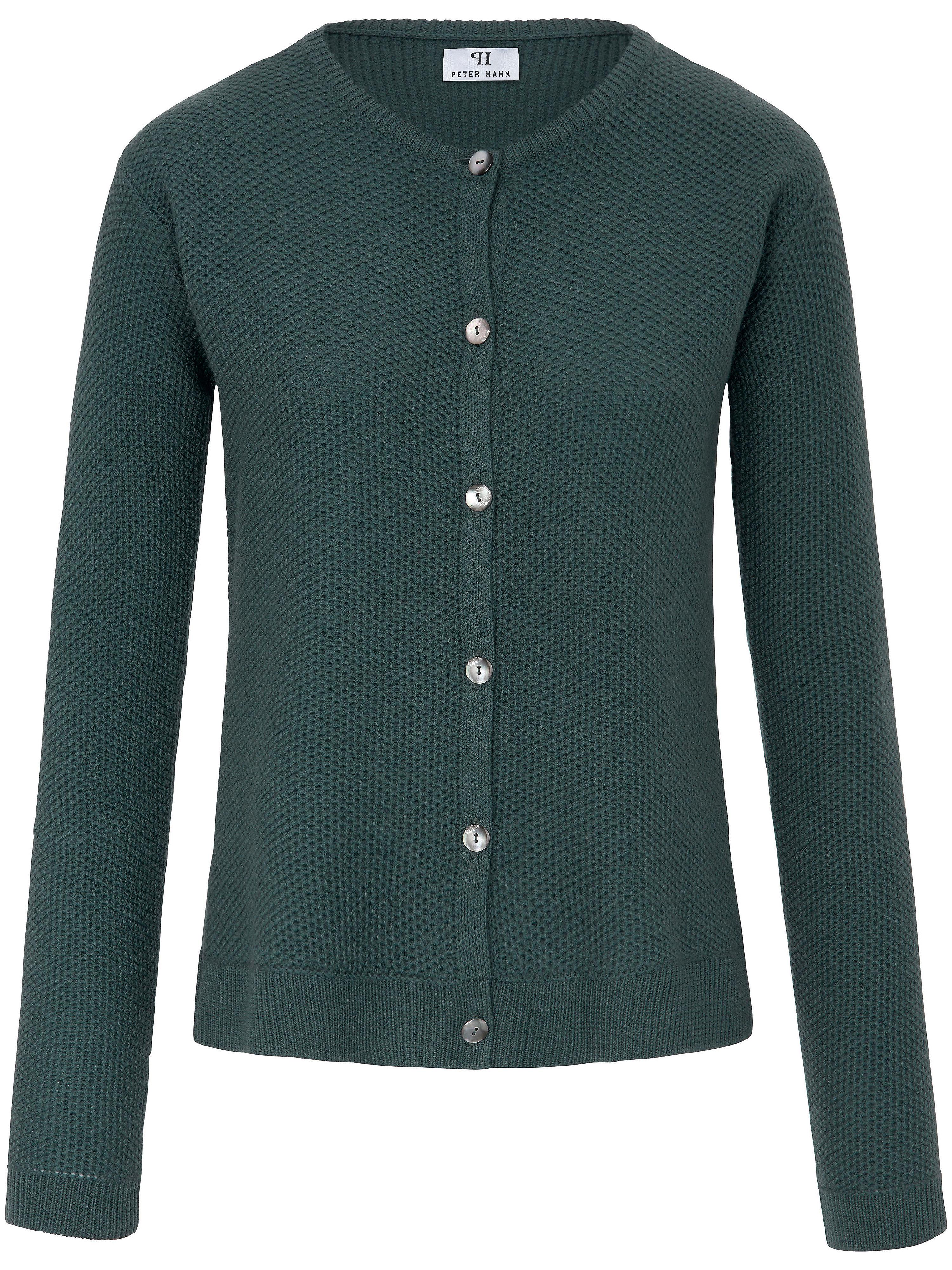 La veste 100% laine vierge  Peter Hahn vert taille 40