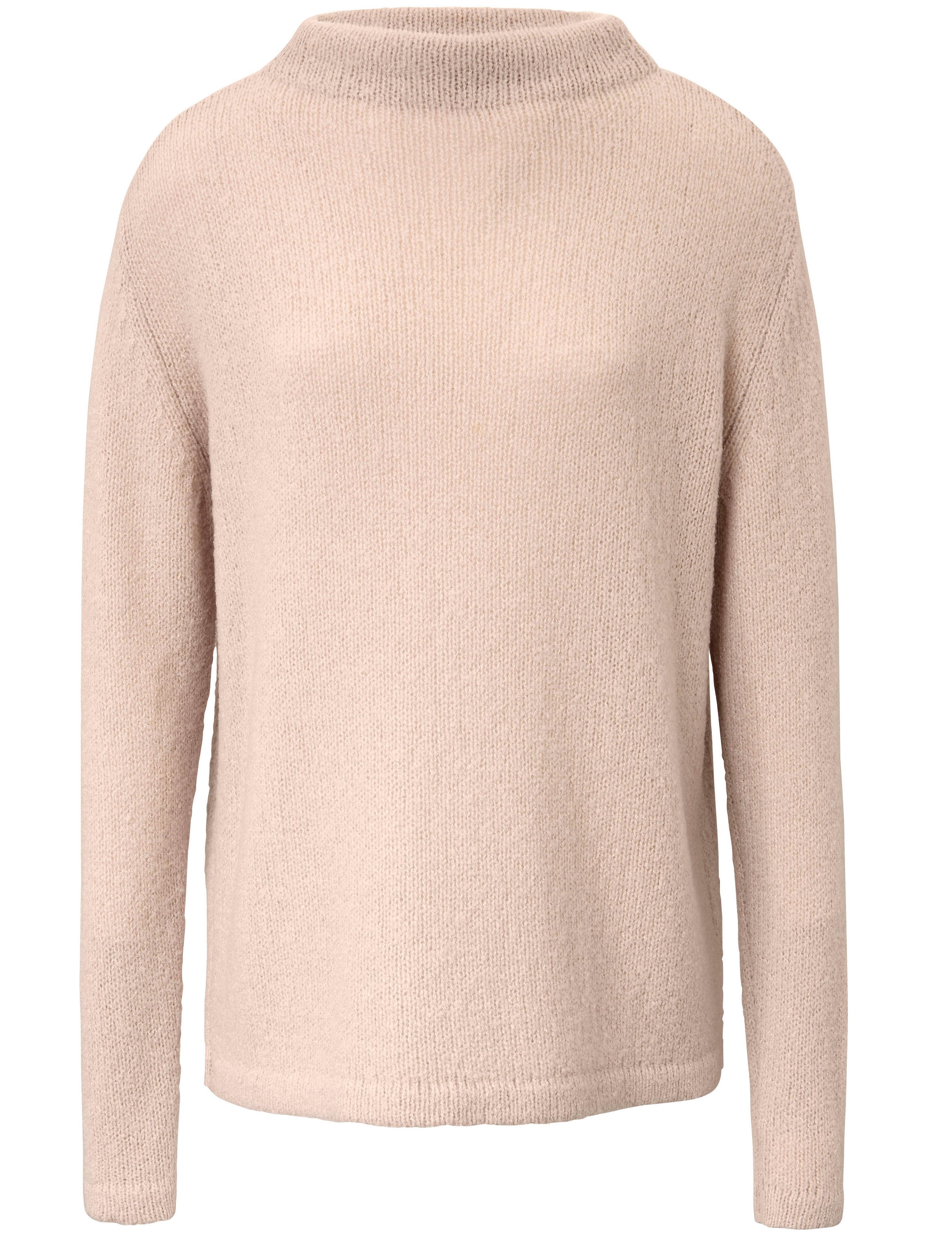 Image of   Bluse smal standkrave og lange ærmer Fra Fadenmeister Berlin rosé