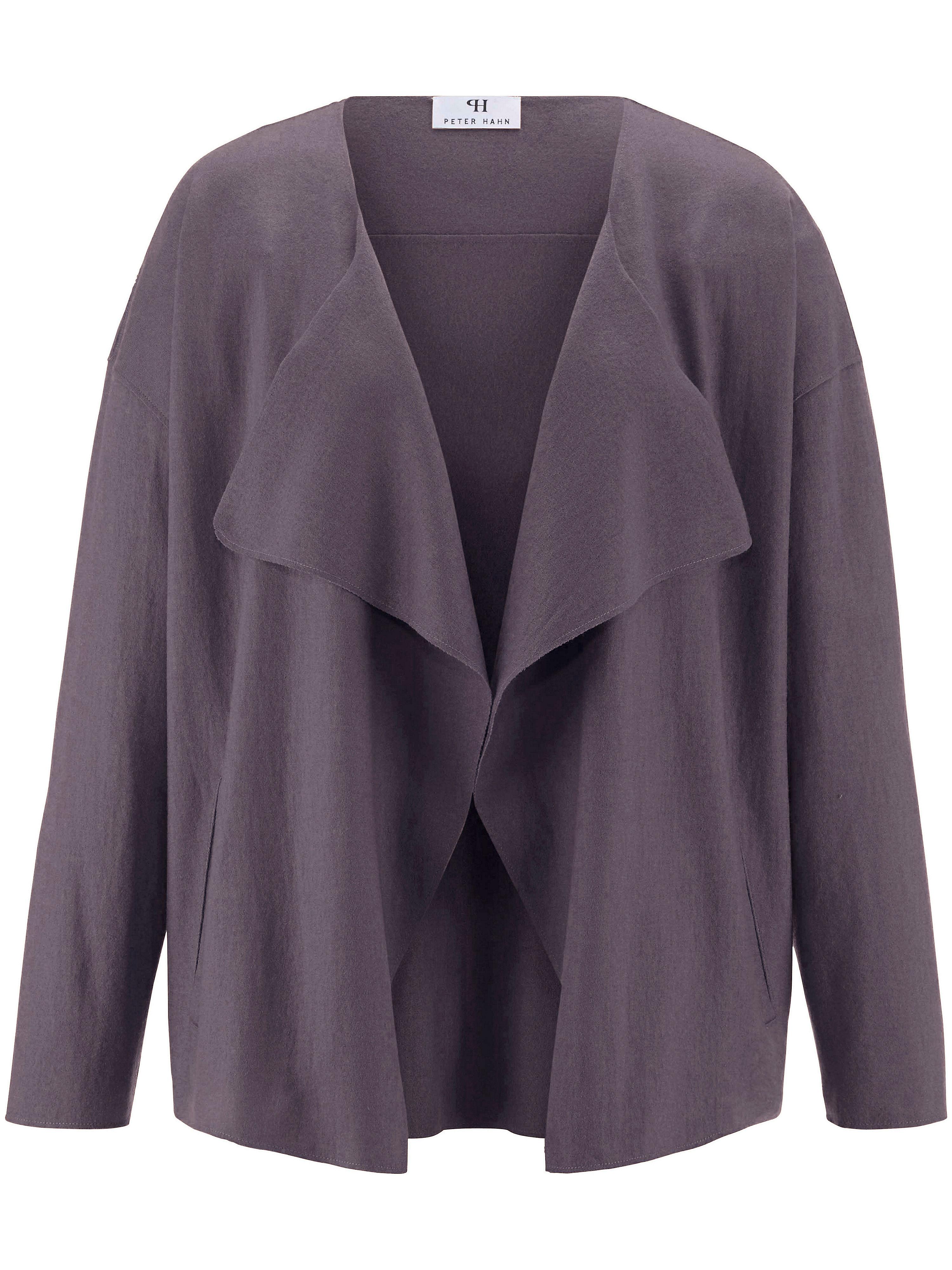 Image of   Jakke 100% ren ny uld Fra Peter Hahn lilla