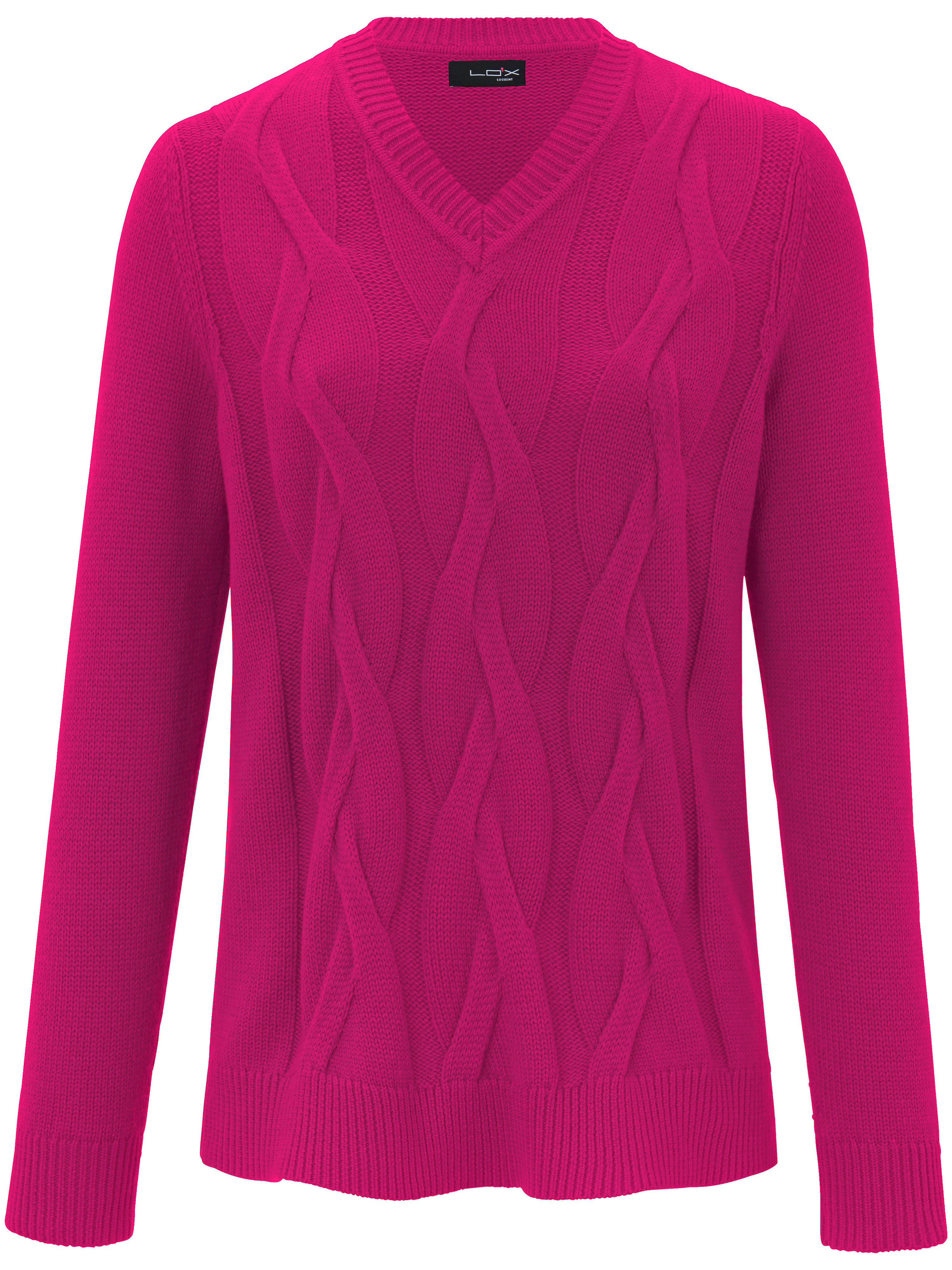 Le pull  Looxent fuchsia taille 48
