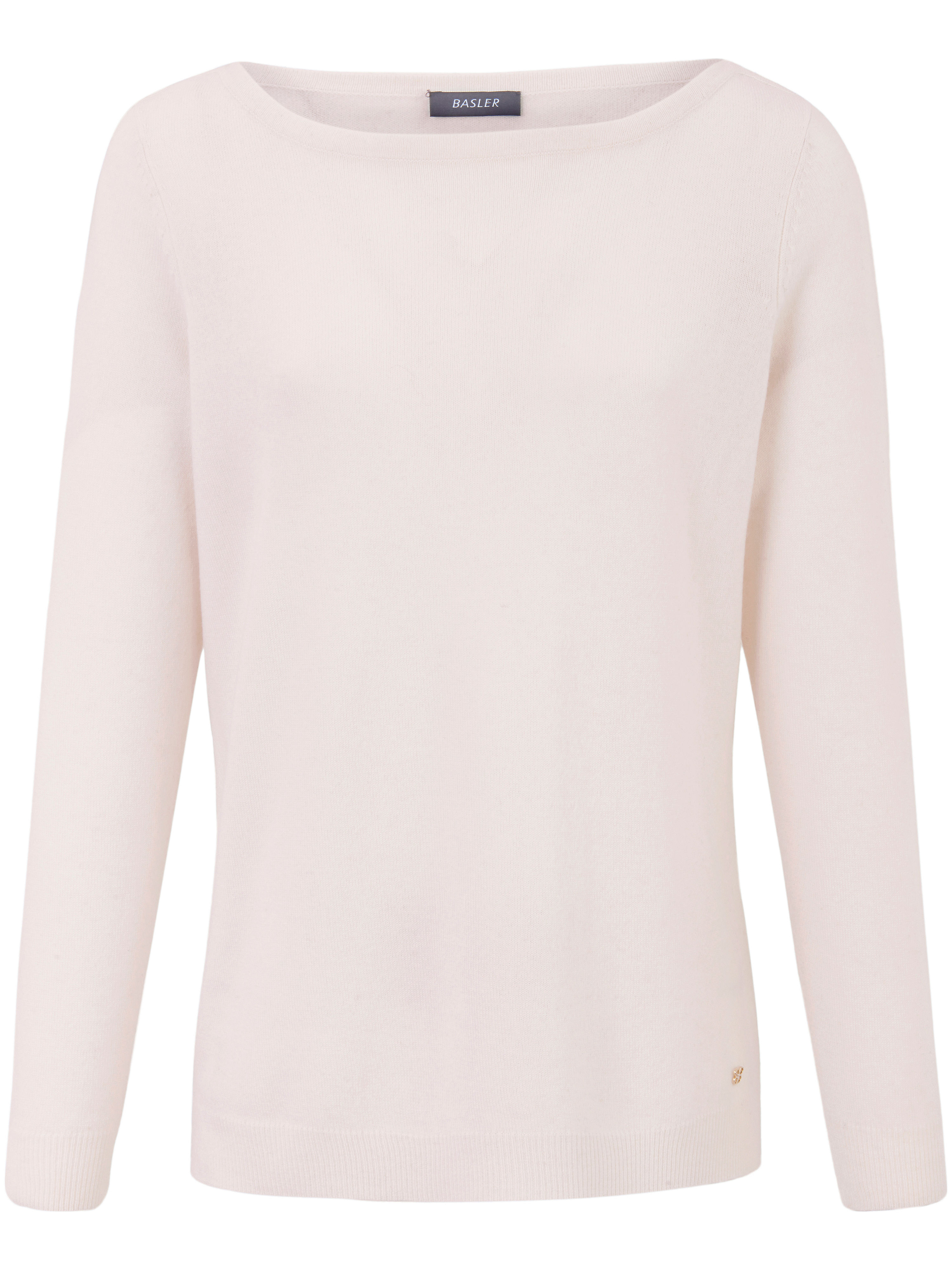Le pull 100% cachemire  Basler blanc taille 44