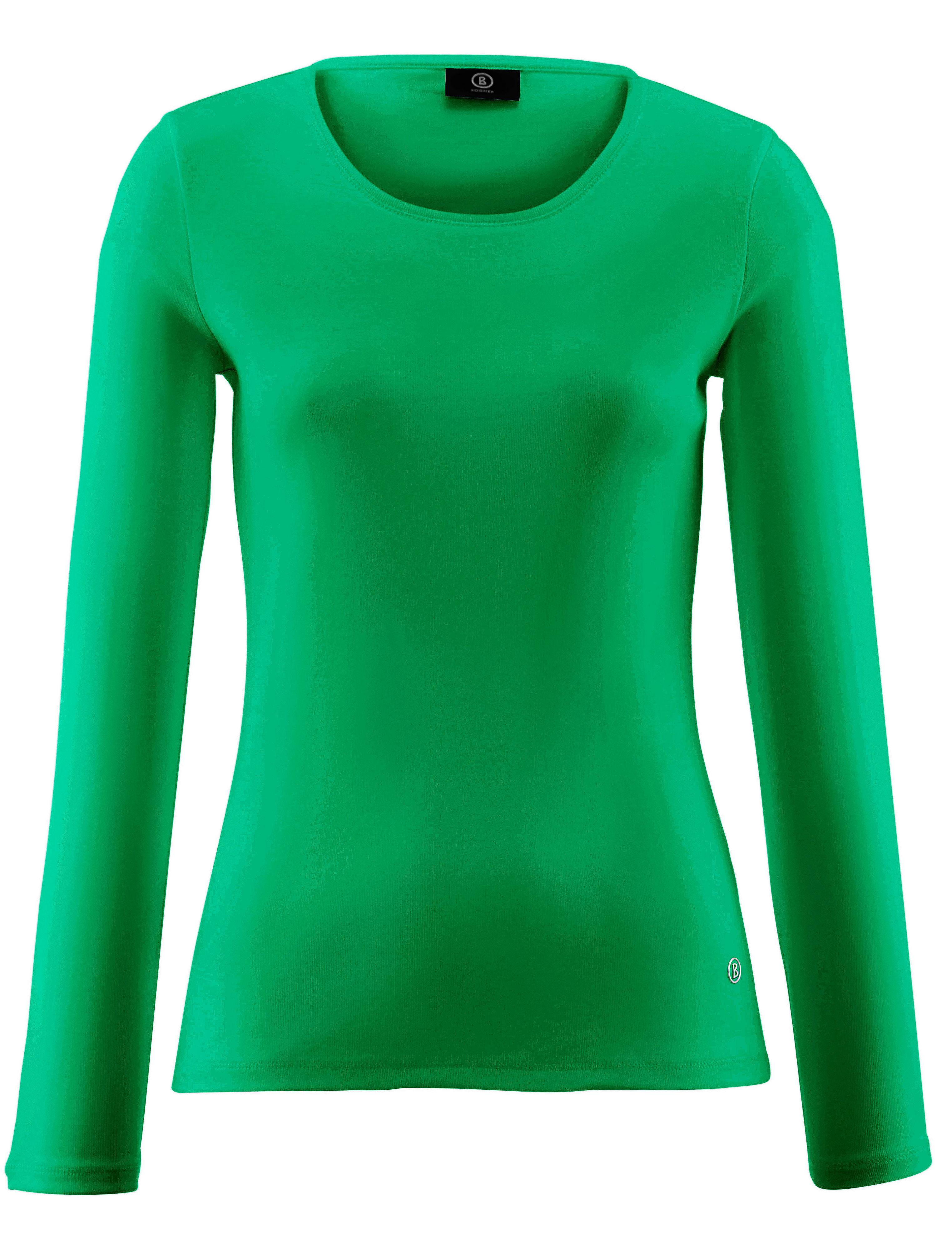 Le T-shirt 100% coton manches longues  Bogner vert taille 42