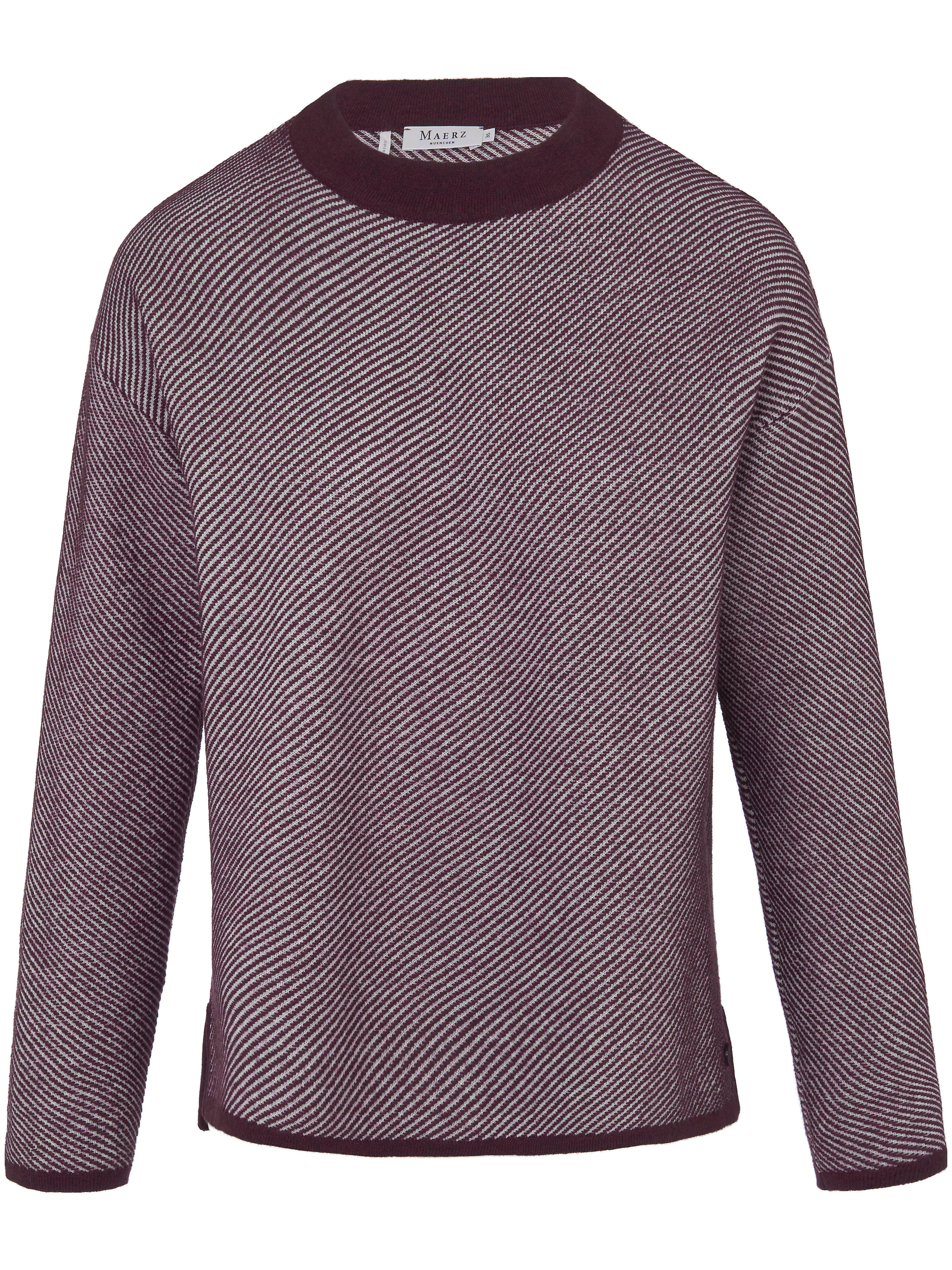 Le pull 100% laine vierge  MAERZ Muenchen multicolore taille 44