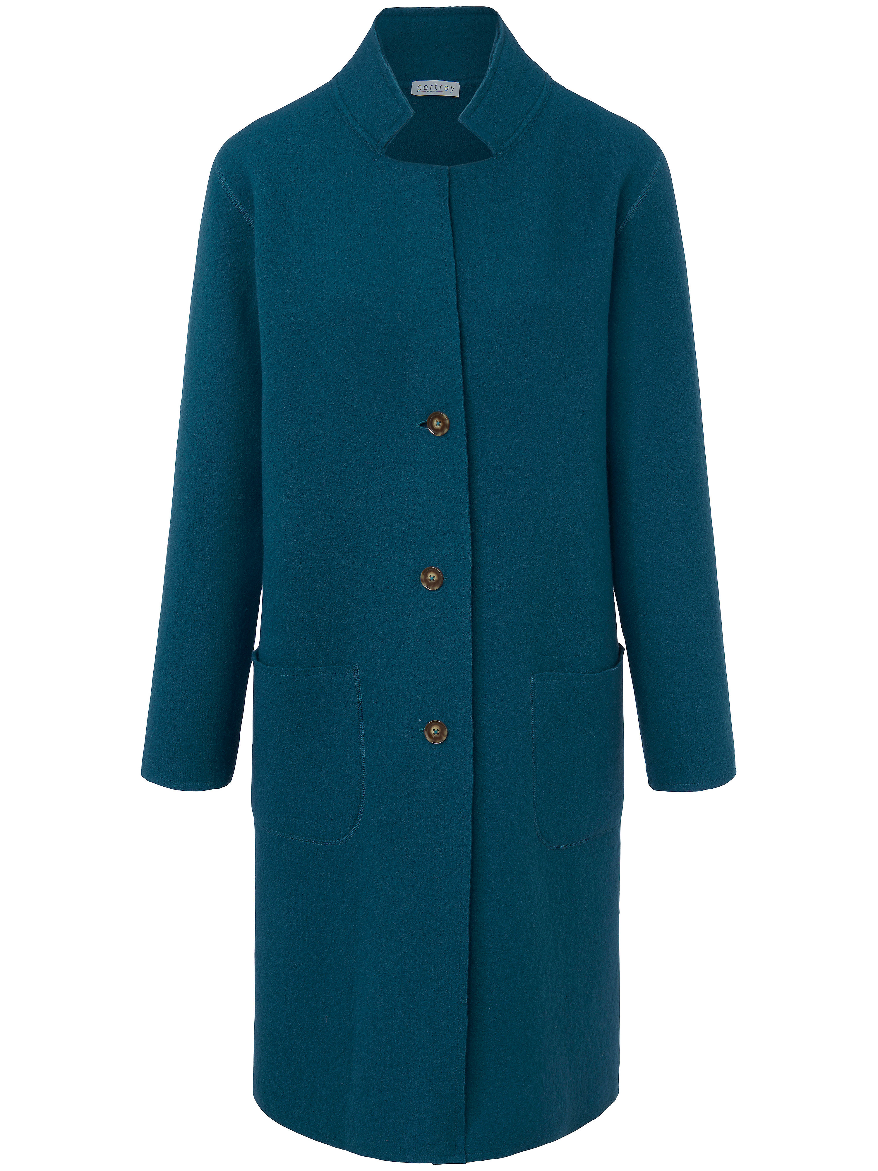 MALe manteau 100% laine vierge  portray berlin bleu