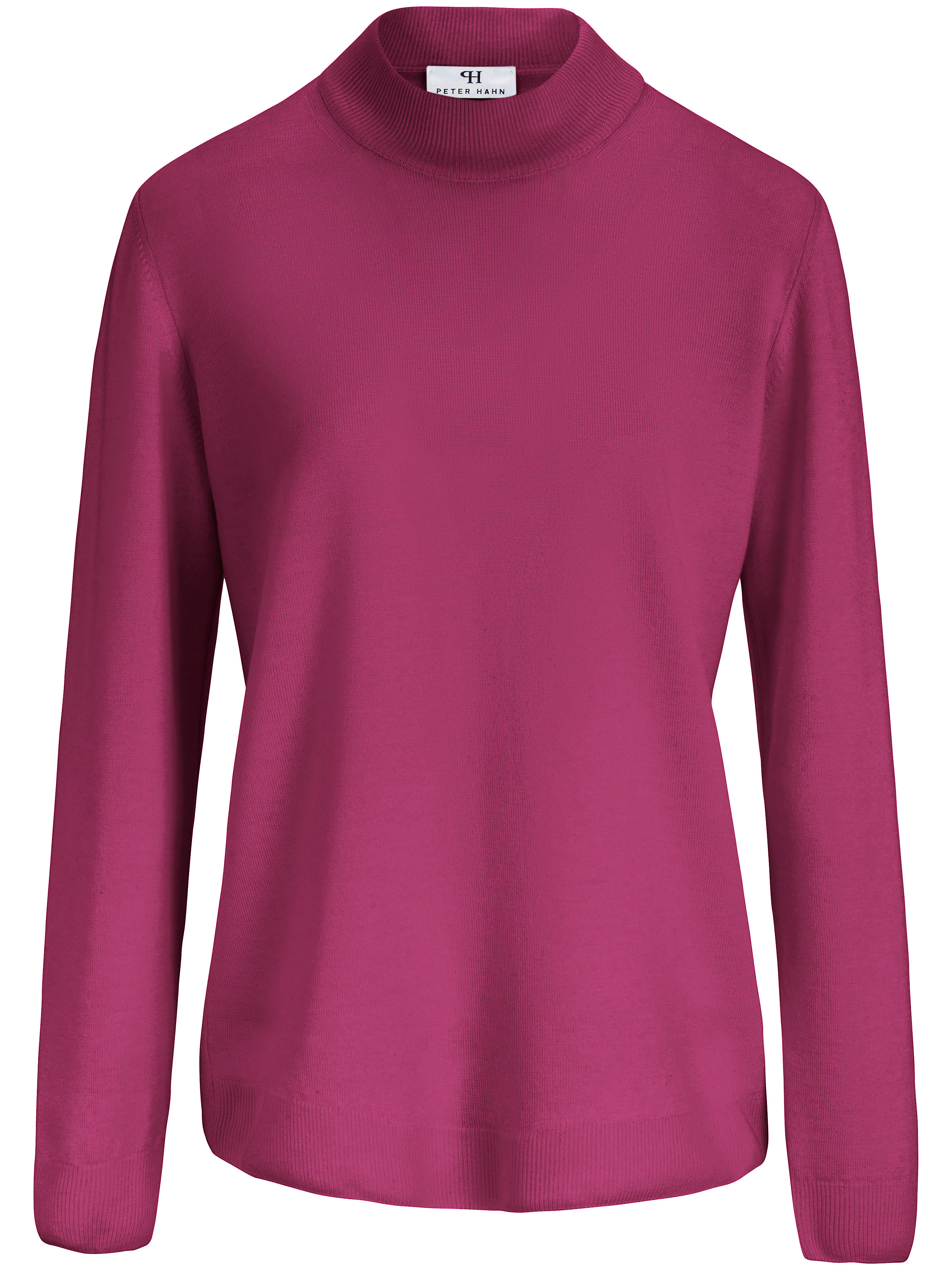 Le pull 100% laine vierge  Peter Hahn fuchsia taille 40