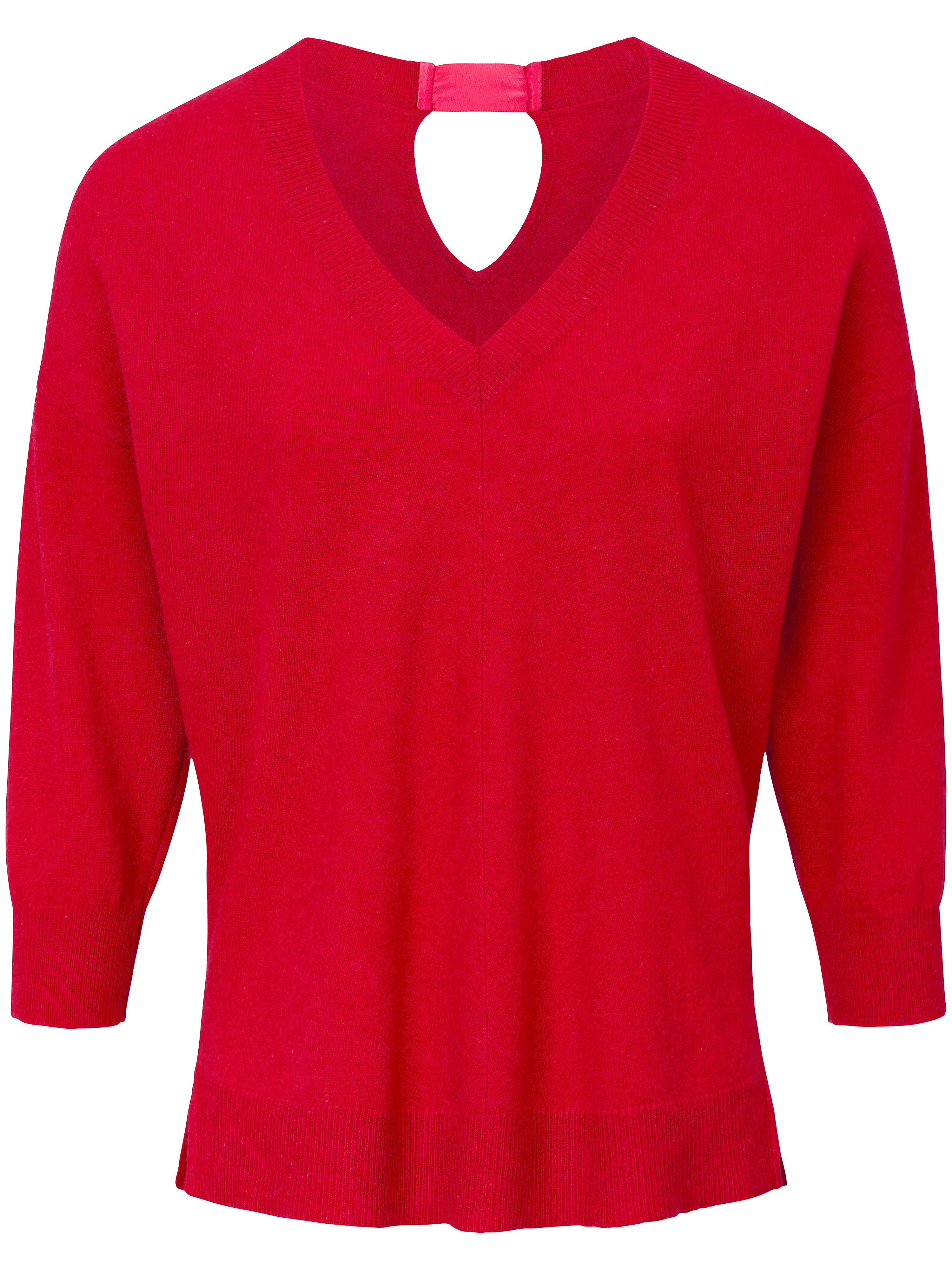 Le pull 100% cachemire manches 3/4  include rouge taille 46