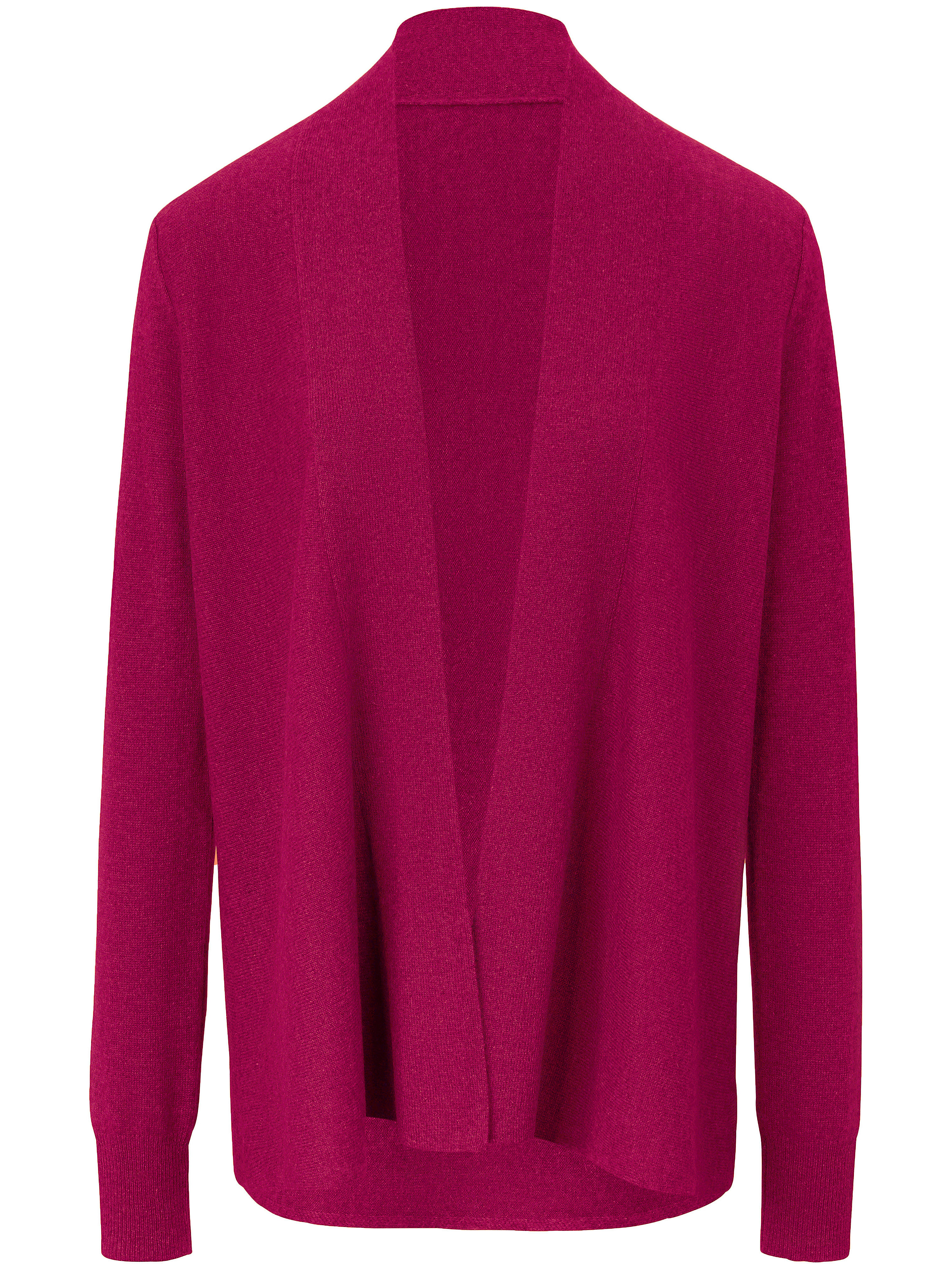 Le gilet 100% cachemire  Peter Hahn Cashmere fuchsia taille 46