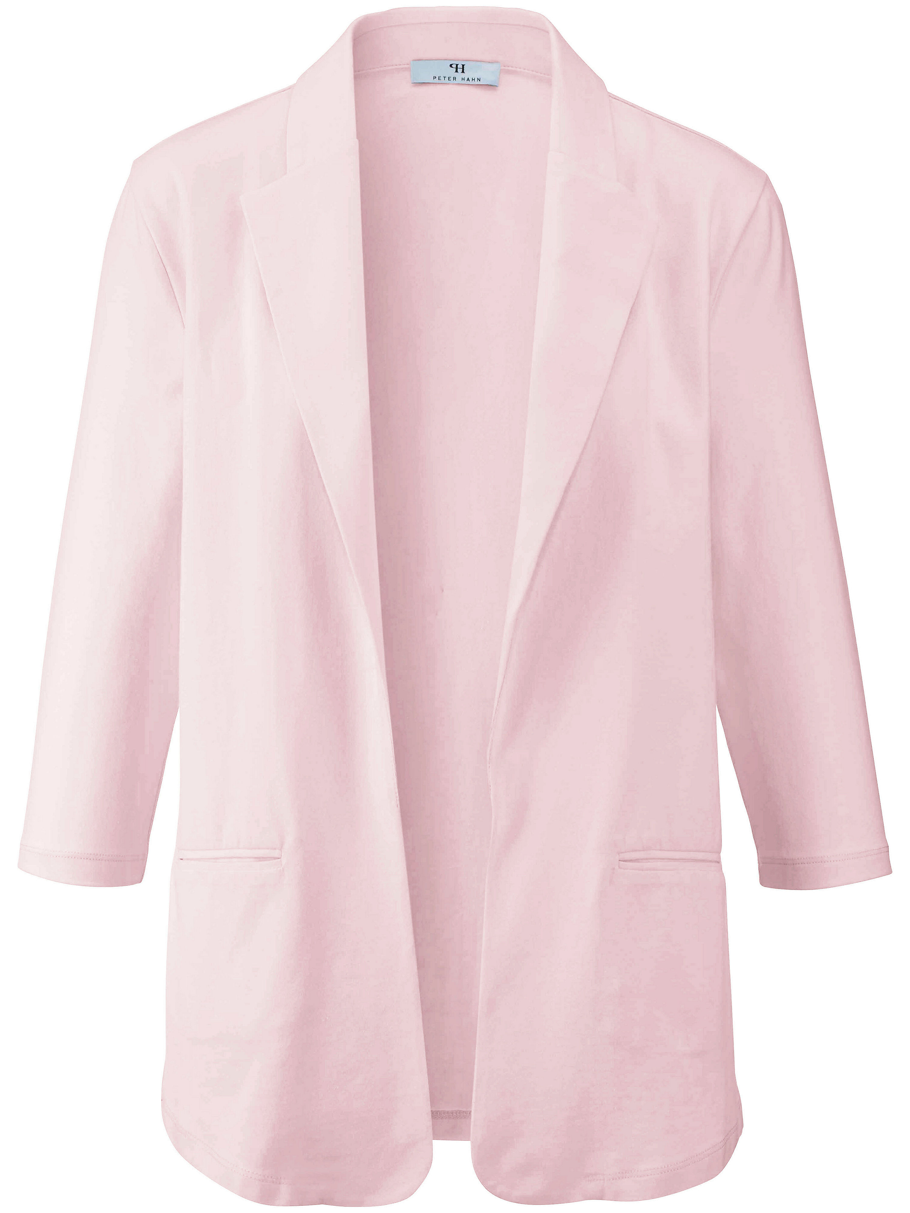 Le blazer jersey Peter Hahn rose taille 50