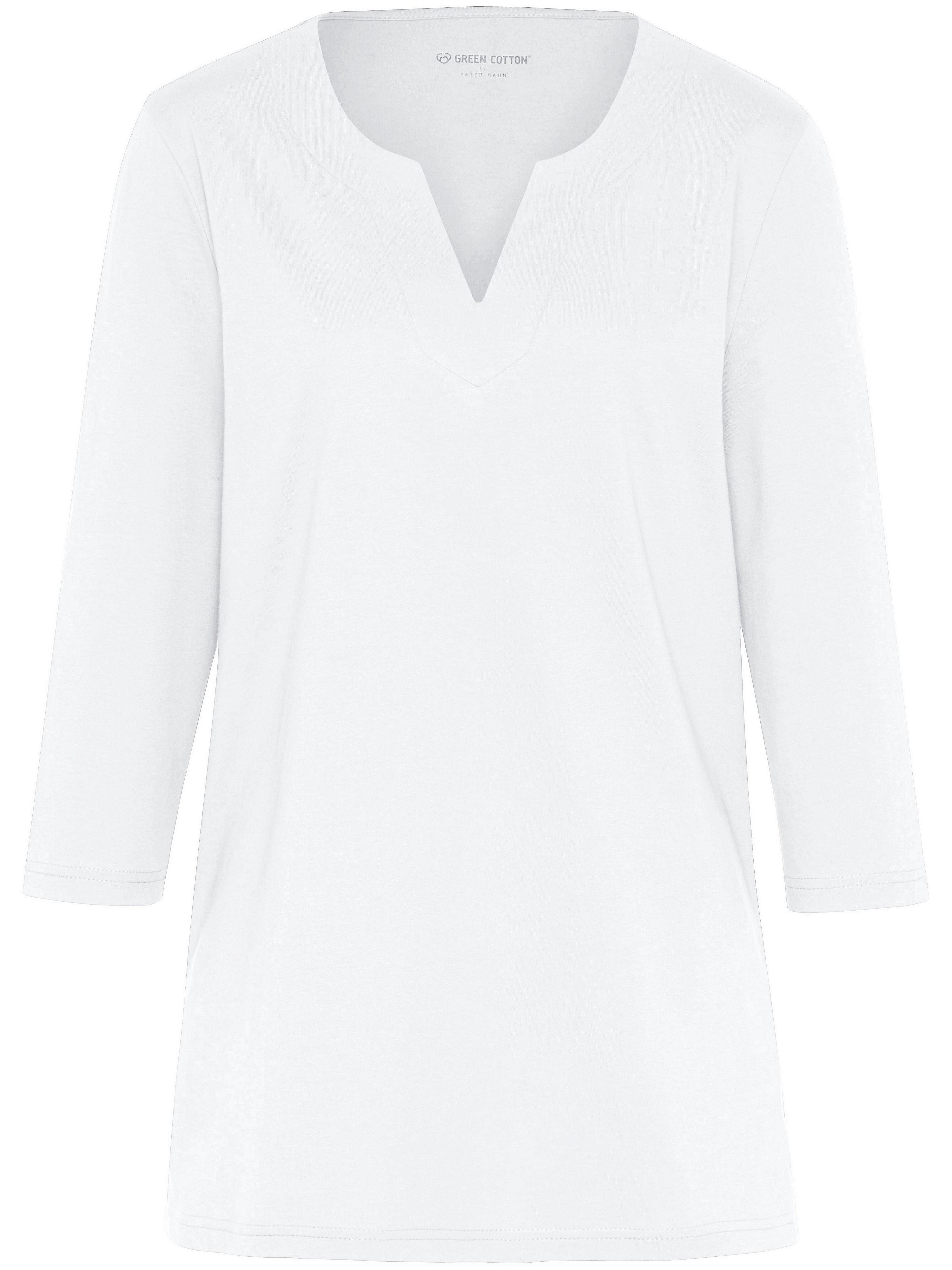 Image of   Bluse 3/4-ærmer Fra Green Cotton hvid