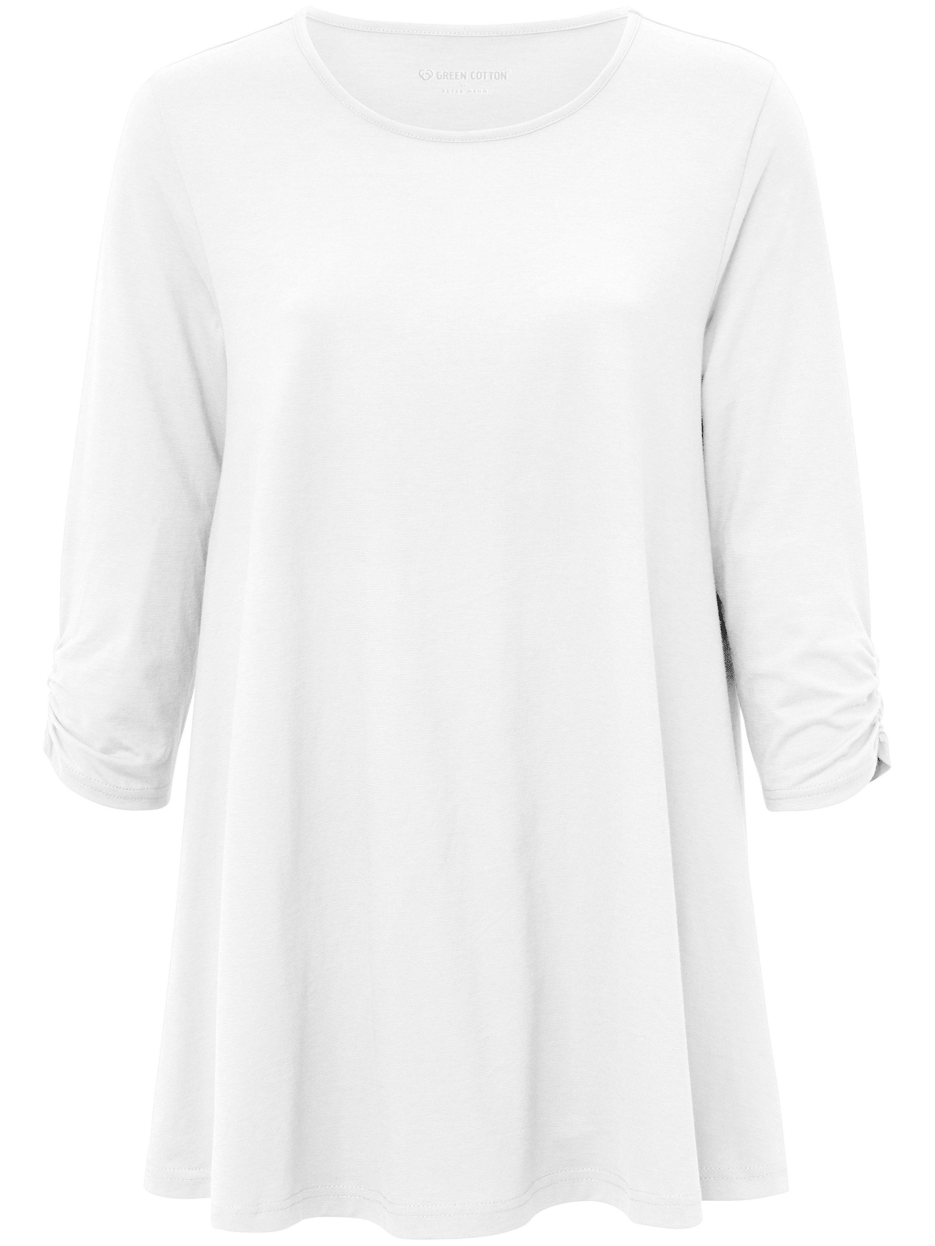 Long-Shirt 3/4-Arm Green Cotton weiss | Bekleidung > Shirts > Longshirts | Green | Green Cotton