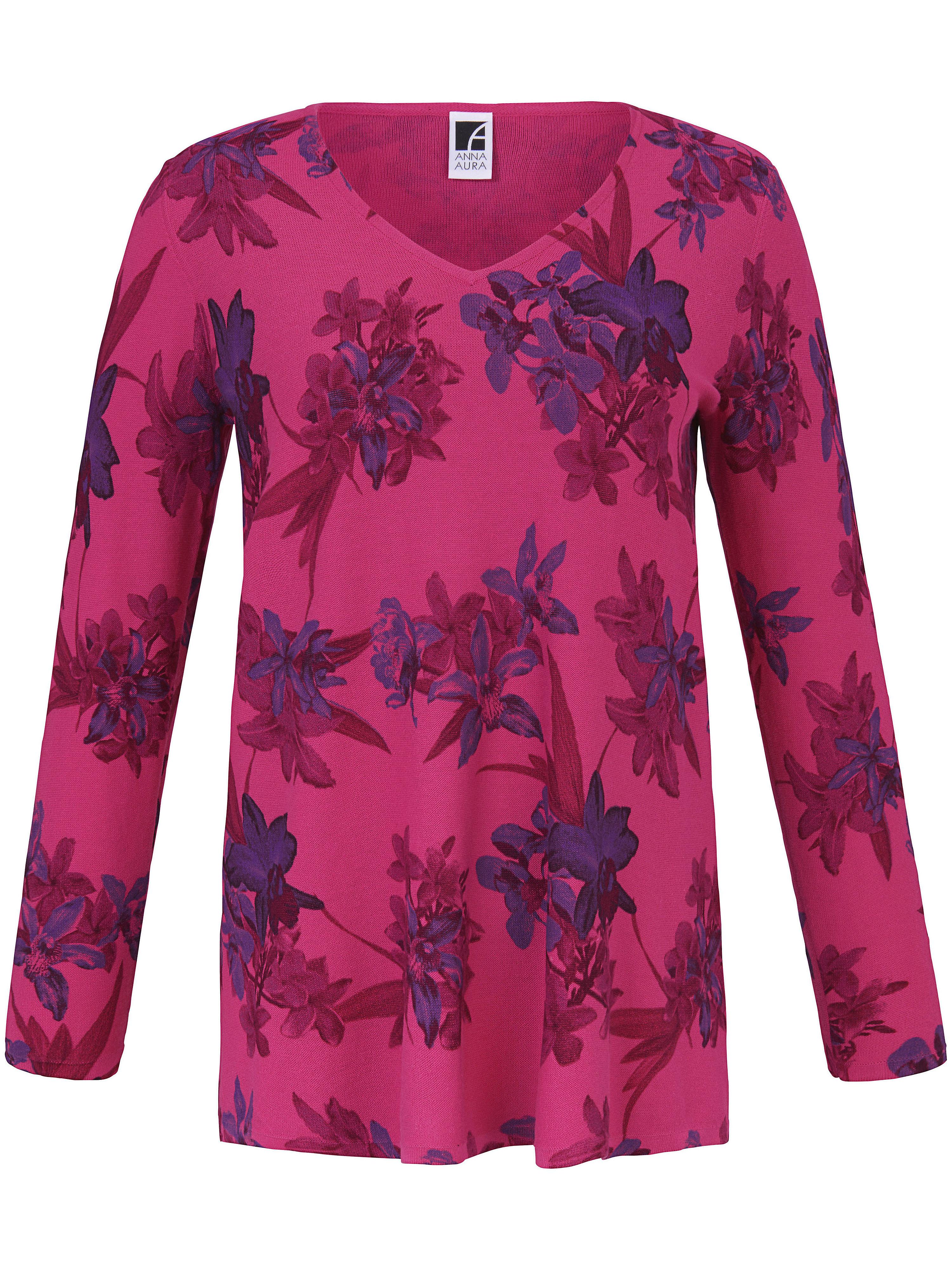 Image of   Bluse V-hals Fra Anna Aura pink