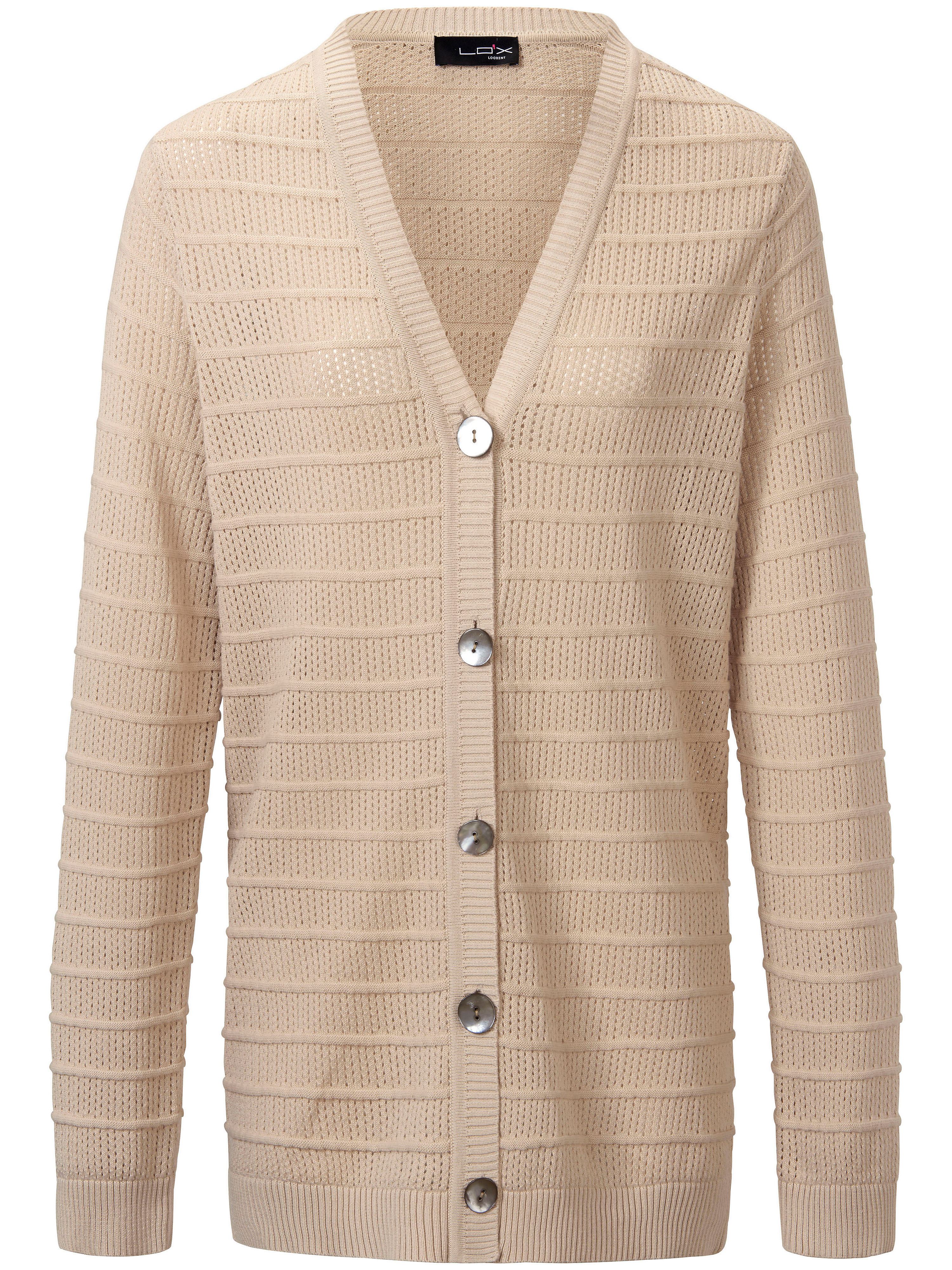 Image of   Cardigan Fra Looxent beige