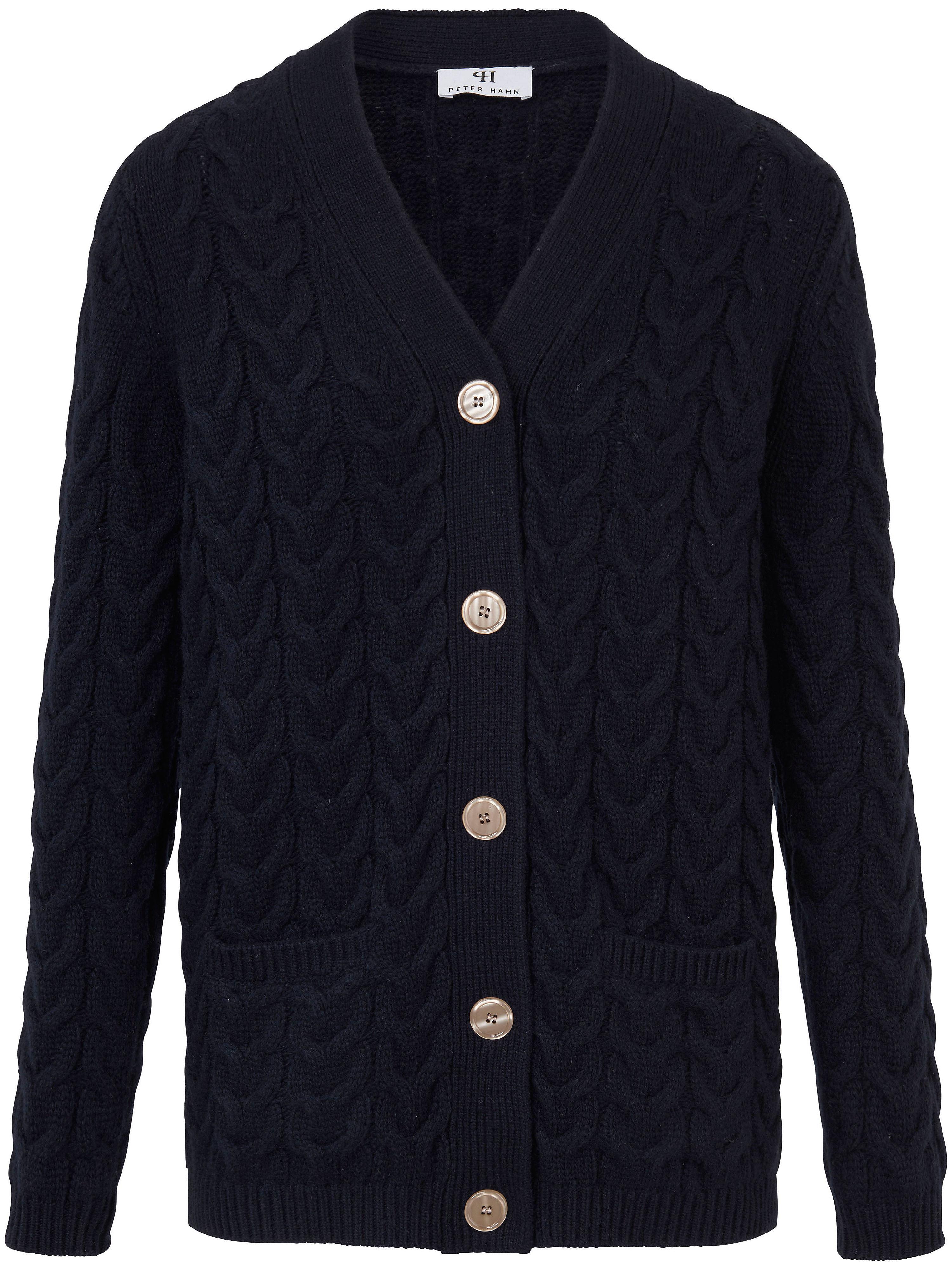 Le gilet pure laine vierge  Peter Hahn bleu taille 50