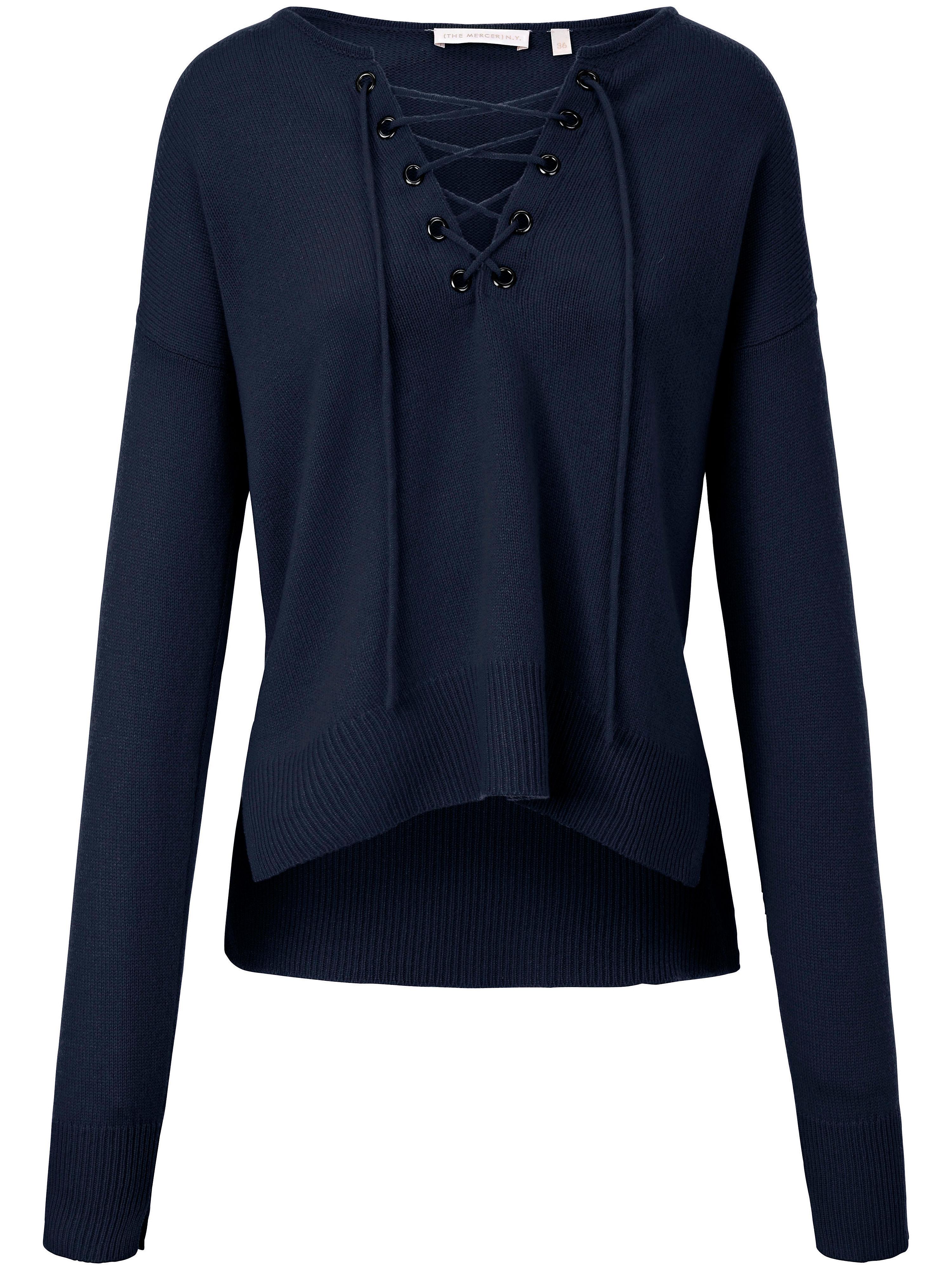 Pullover aus 100% Kaschmir (THE MERCER) N.Y. blau