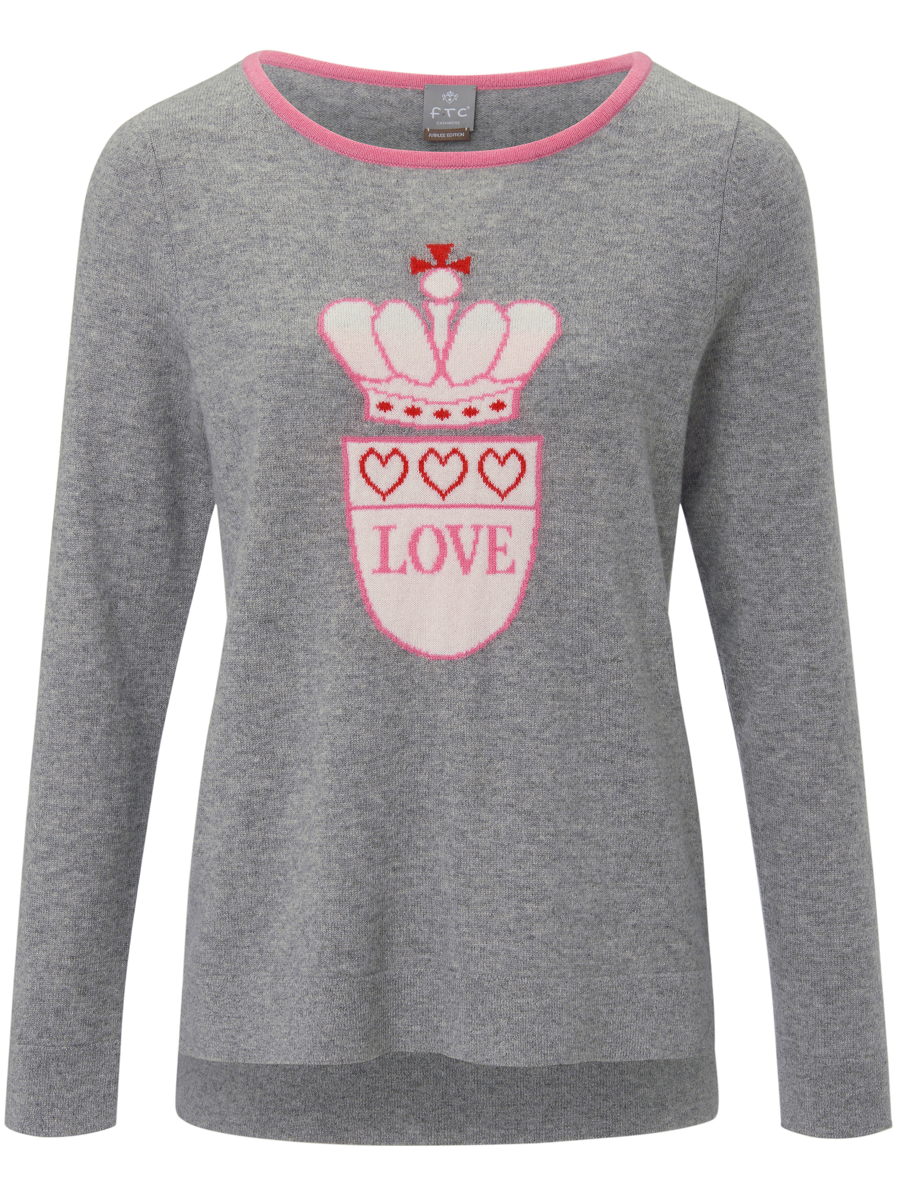 Le pull 100% cachemire  FTC Cashmere gris taille 38