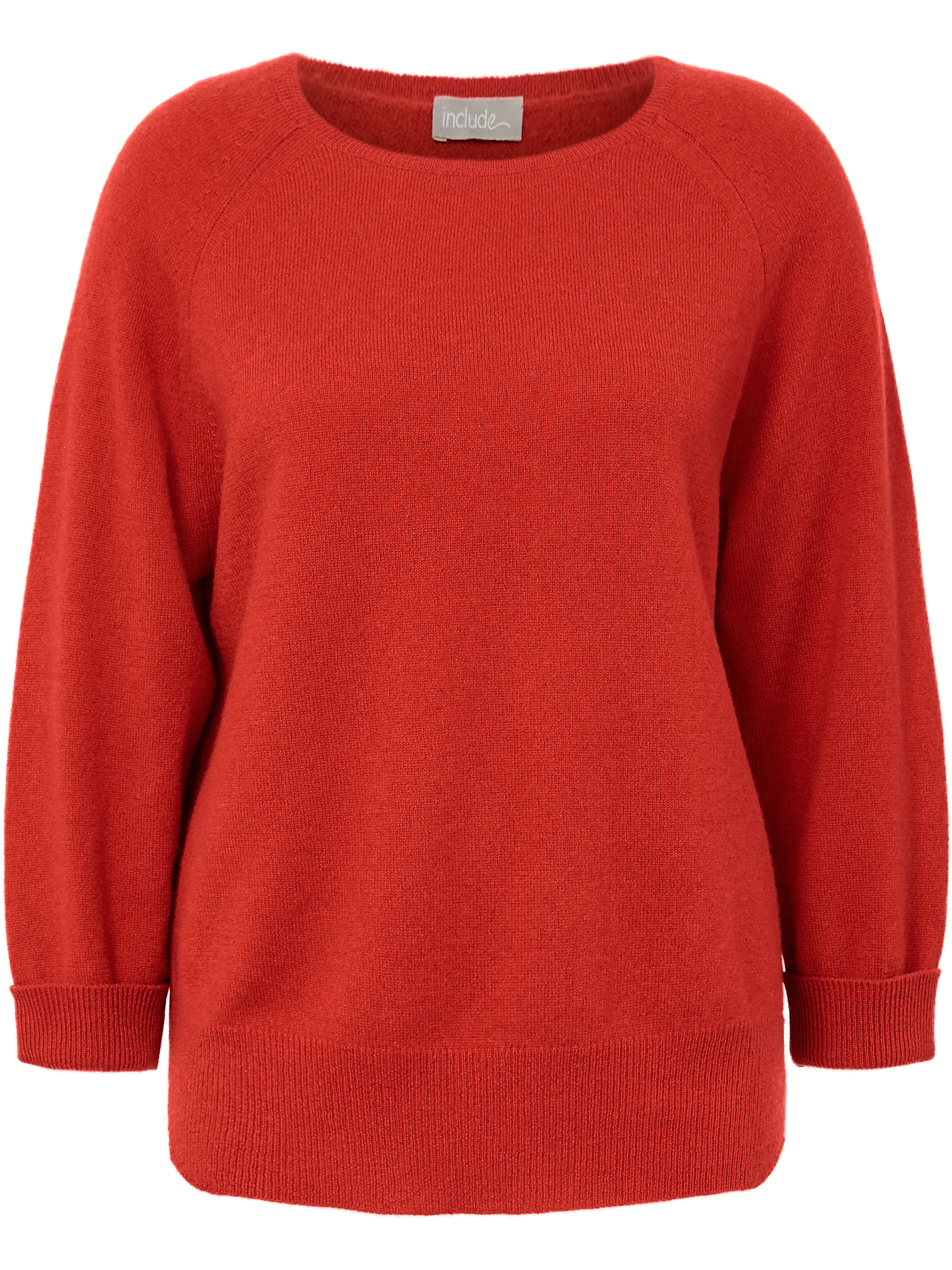 Le pull 100% cachemire  include rouge taille 46