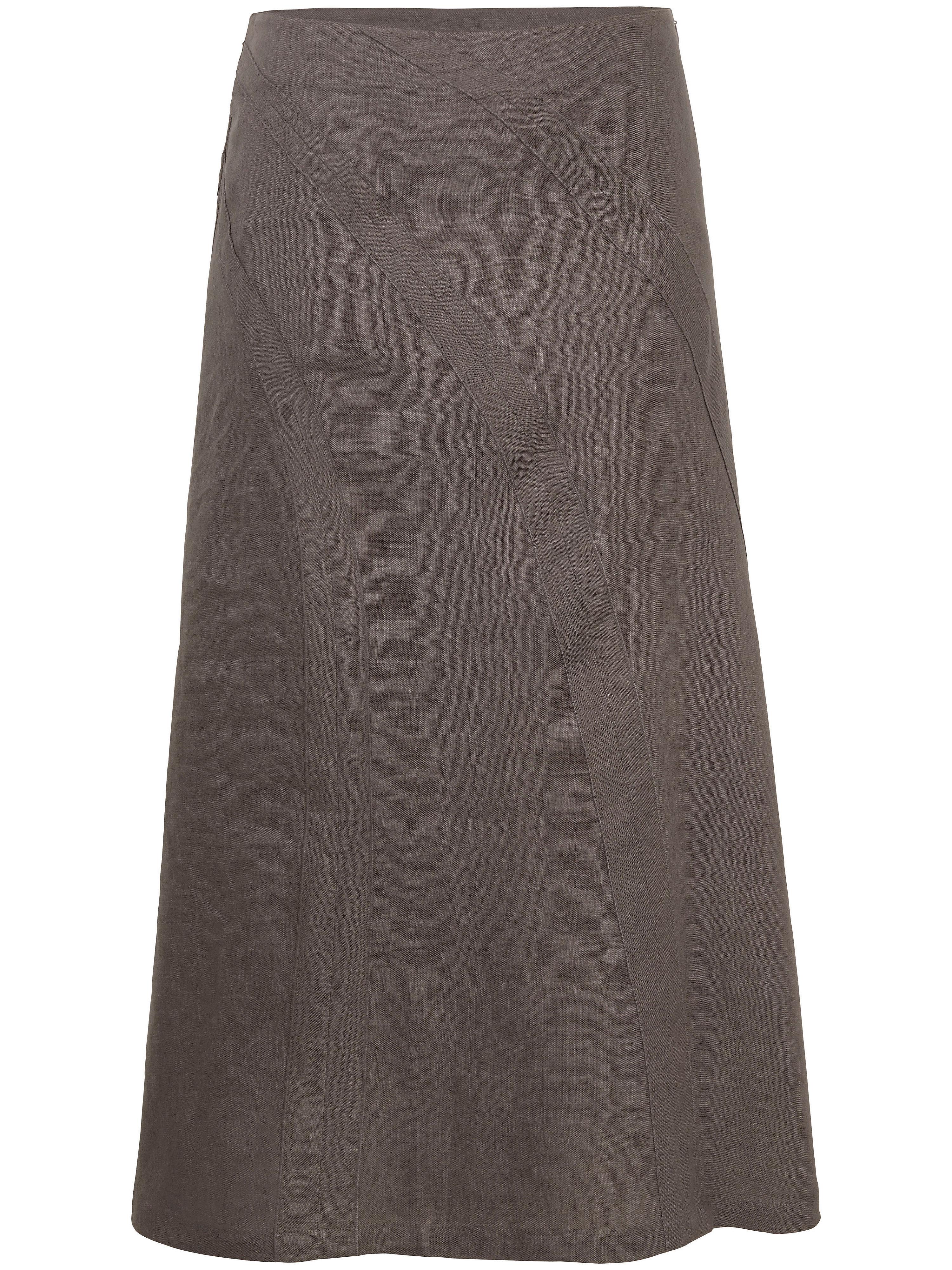 Image of   Nederdel Fra Anna Aura brun