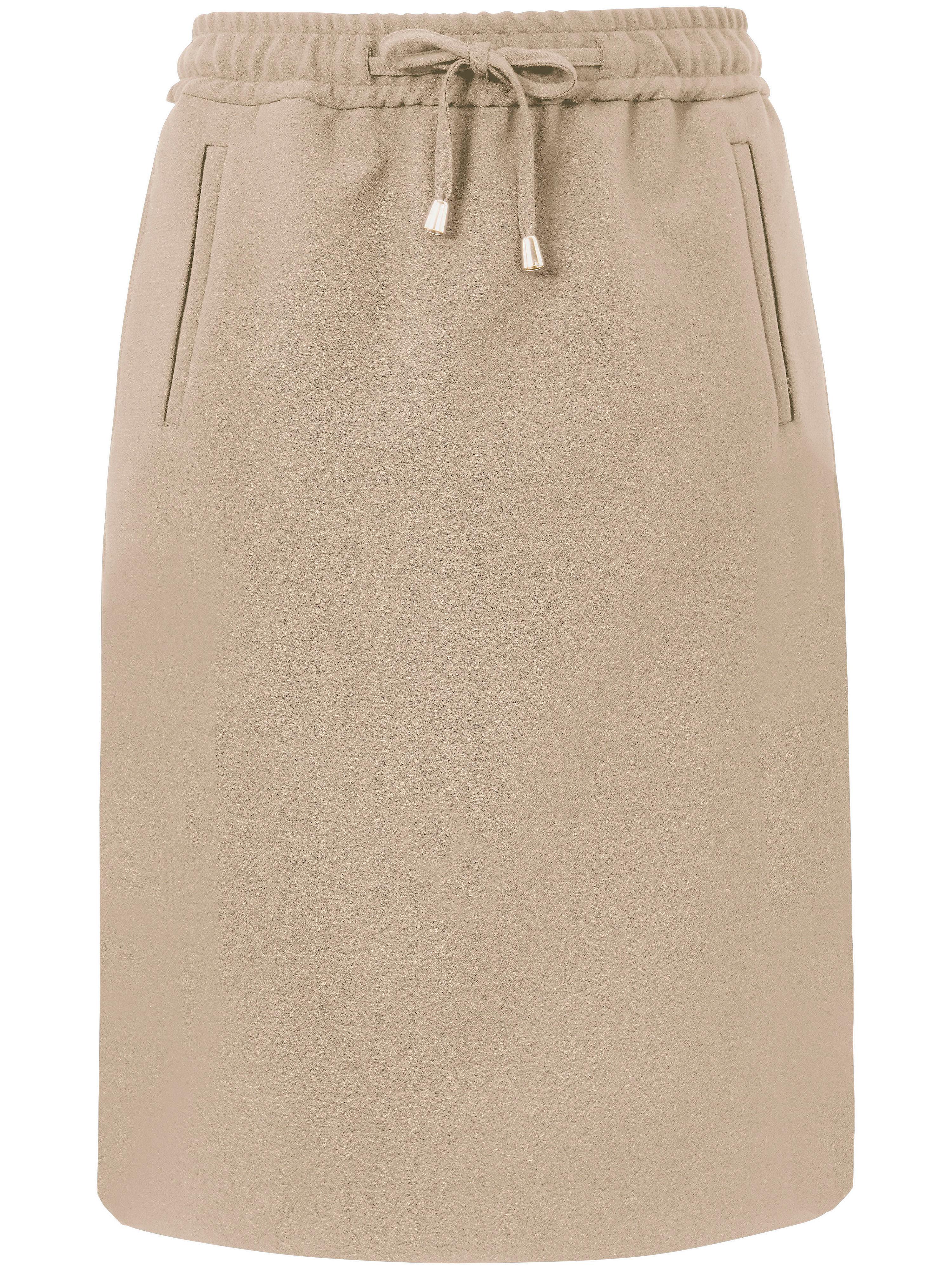 La jupe droite  DAY.LIKE beige