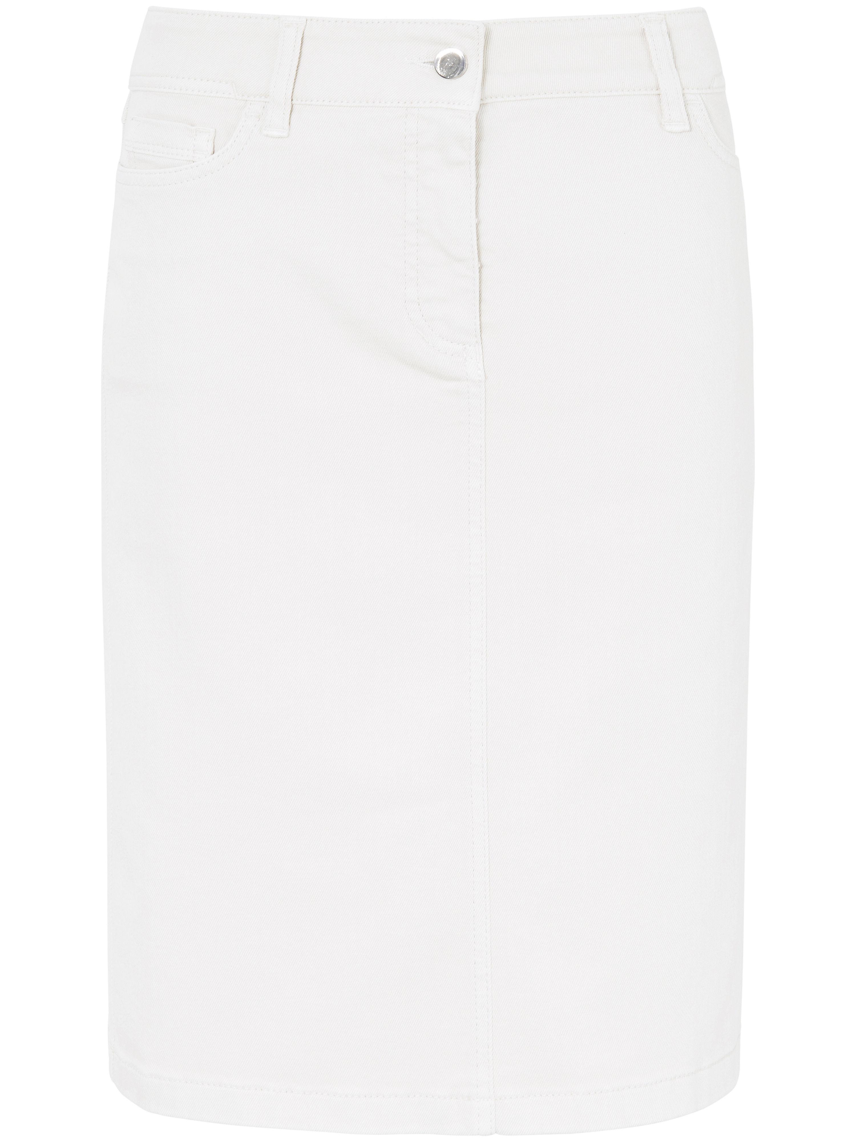 La jupe jean  DAY.LIKE blanc taille 20
