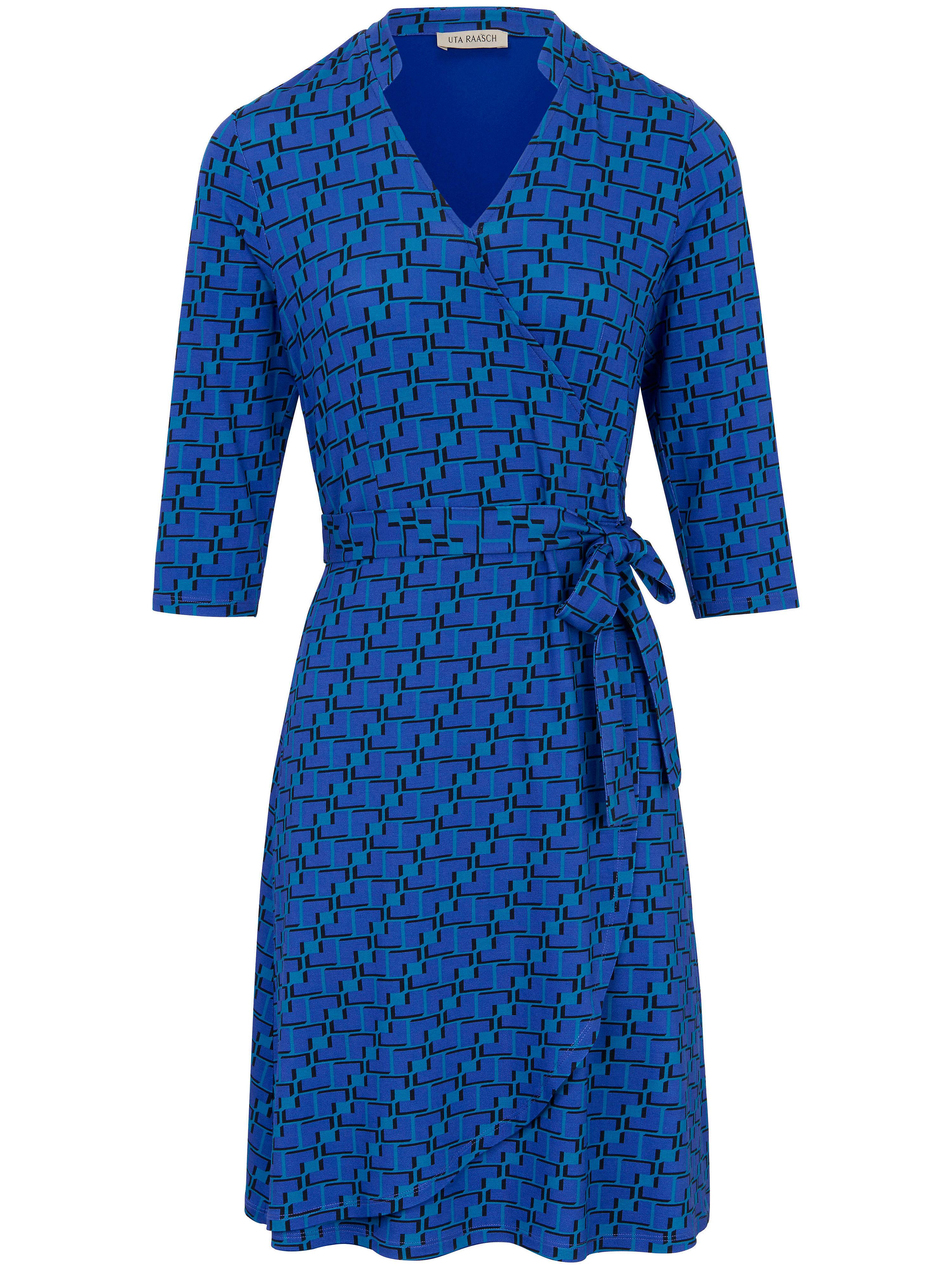 La robe imprimée jersey manches 3/4 Uta Raasch multicolore taille 40