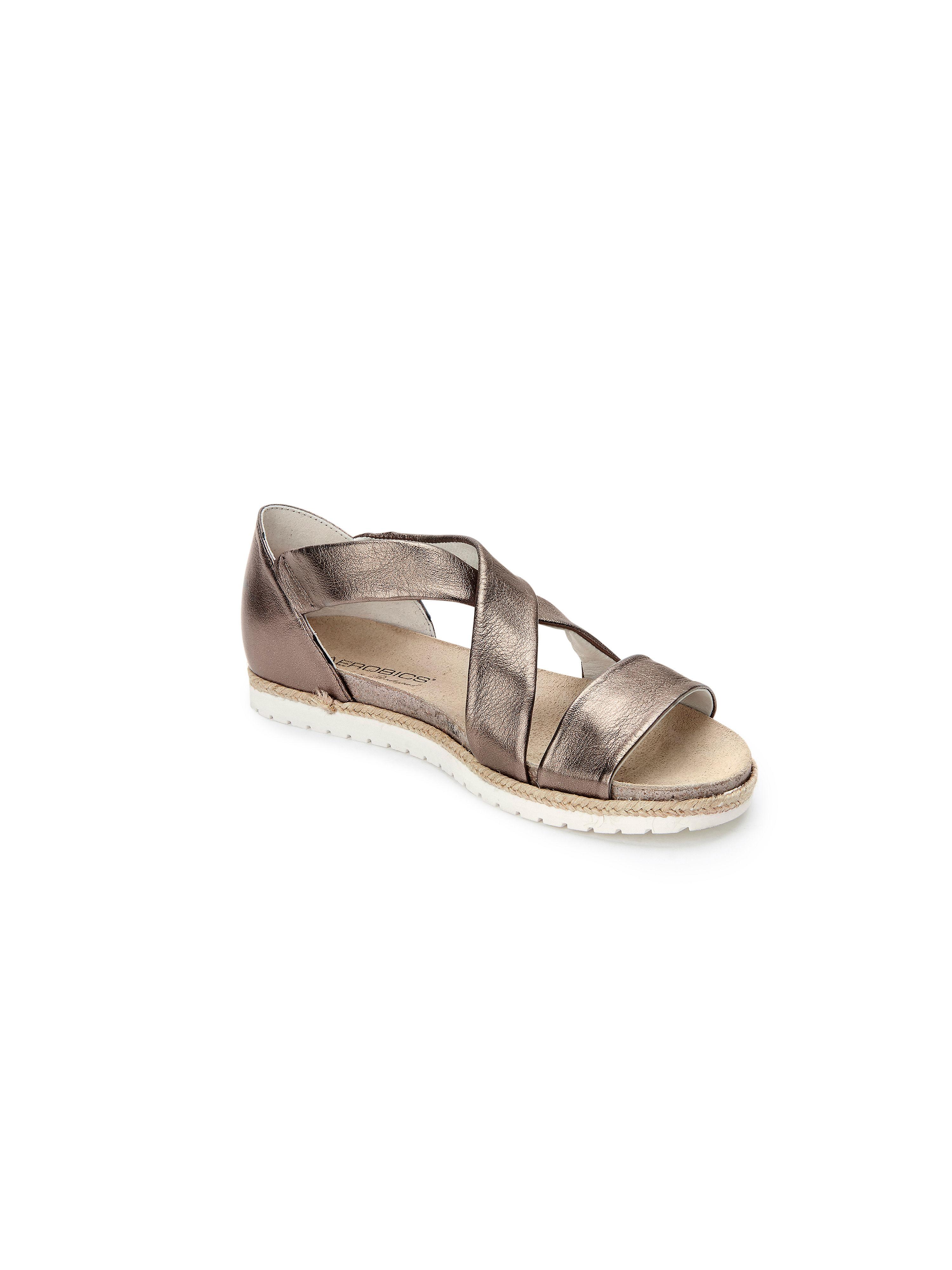 Aerobics - Sandale aus 100% Leder - Bronze-Metallic Gute Qualität beliebte Schuhe