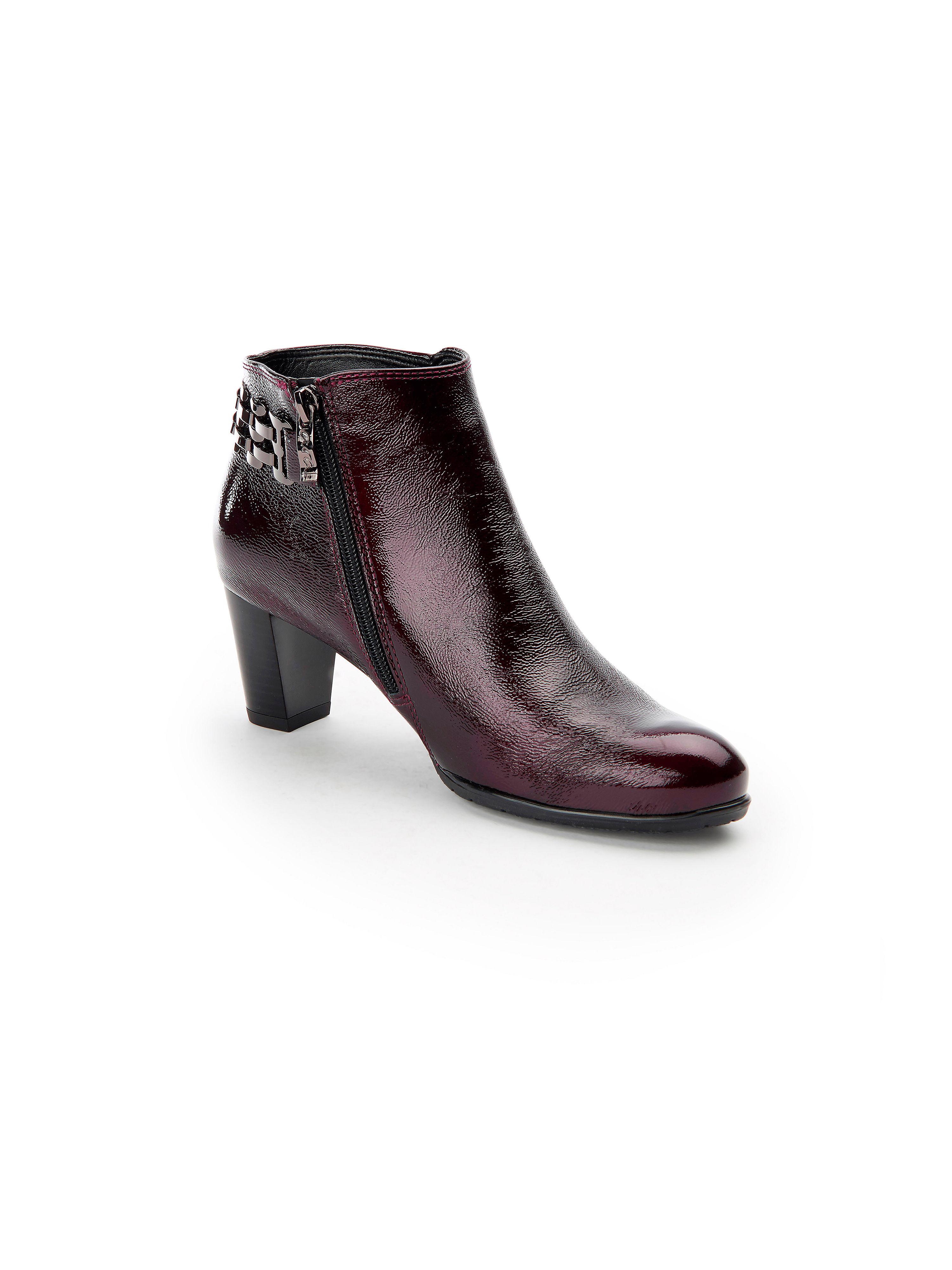ARA - Stiefelette aus 100% Leder - Bordeaux Gute Qualität beliebte Schuhe