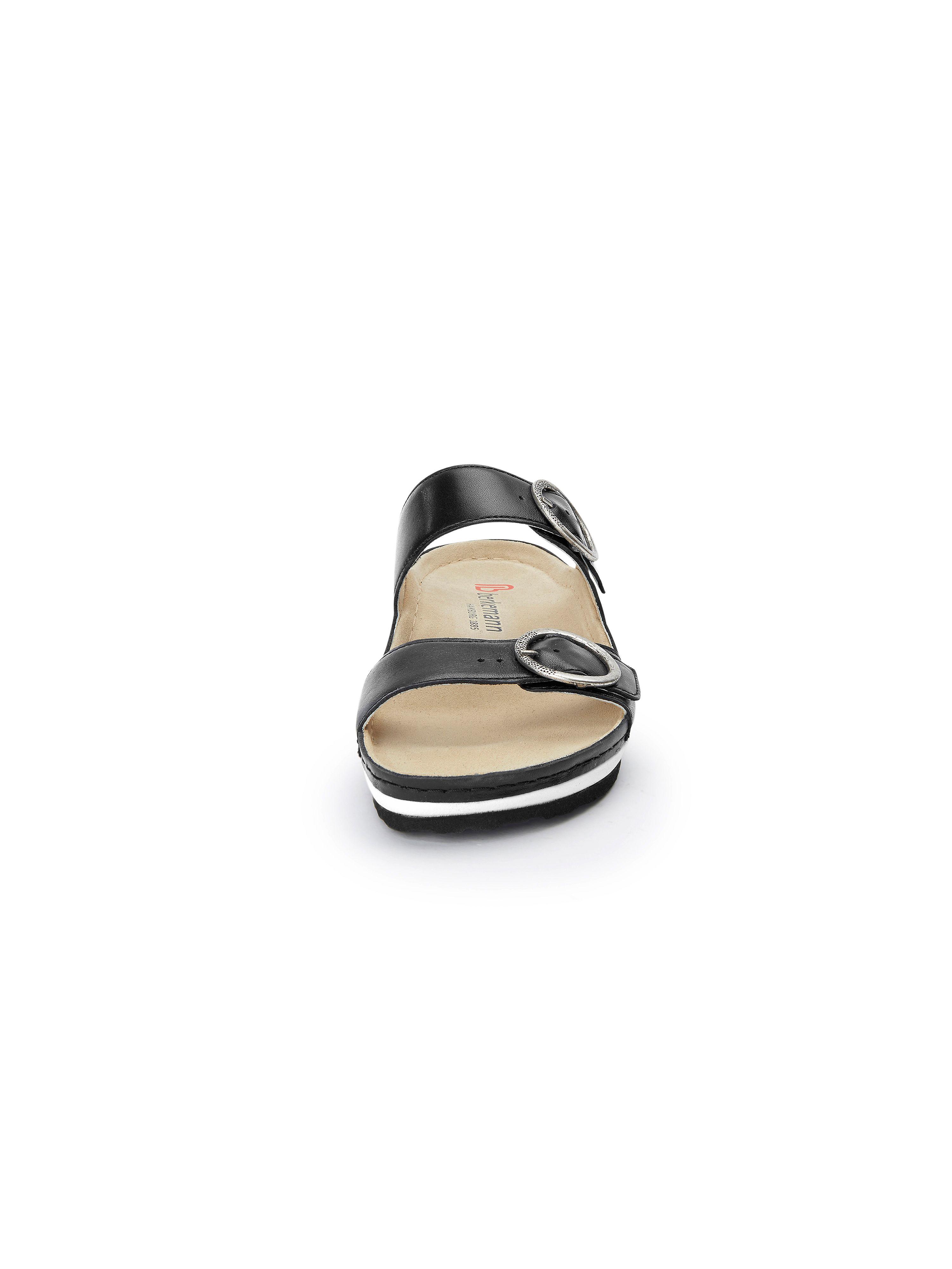 Berkemann Original - Pantolette aus Gute 100% Leder - Schwarz Gute aus Qualität beliebte Schuhe 47ad56