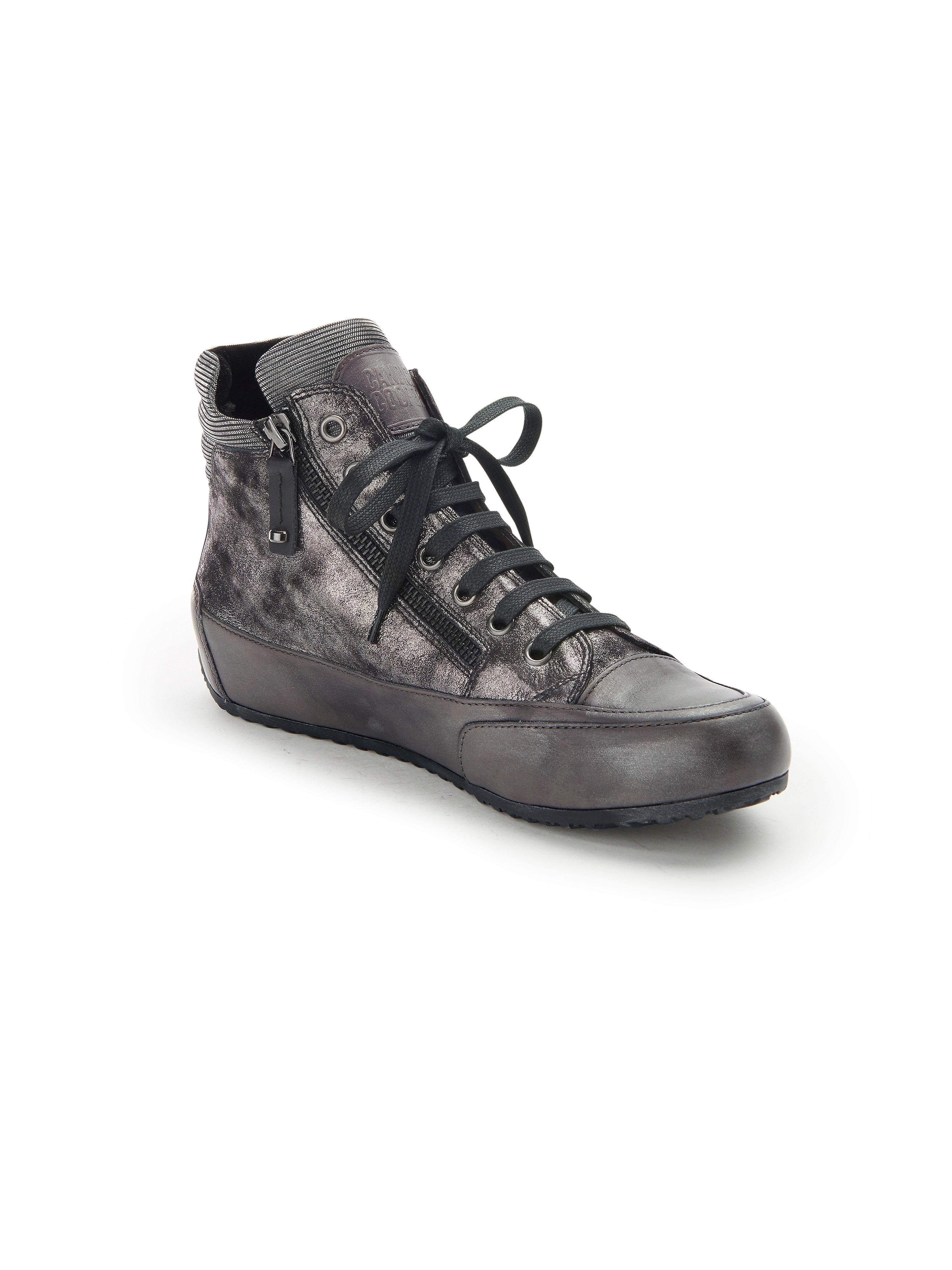 "Candice Cooper - Sneaker ""Lion Zip"" - Schwarz-Metallic Gute Qualität beliebte Schuhe"