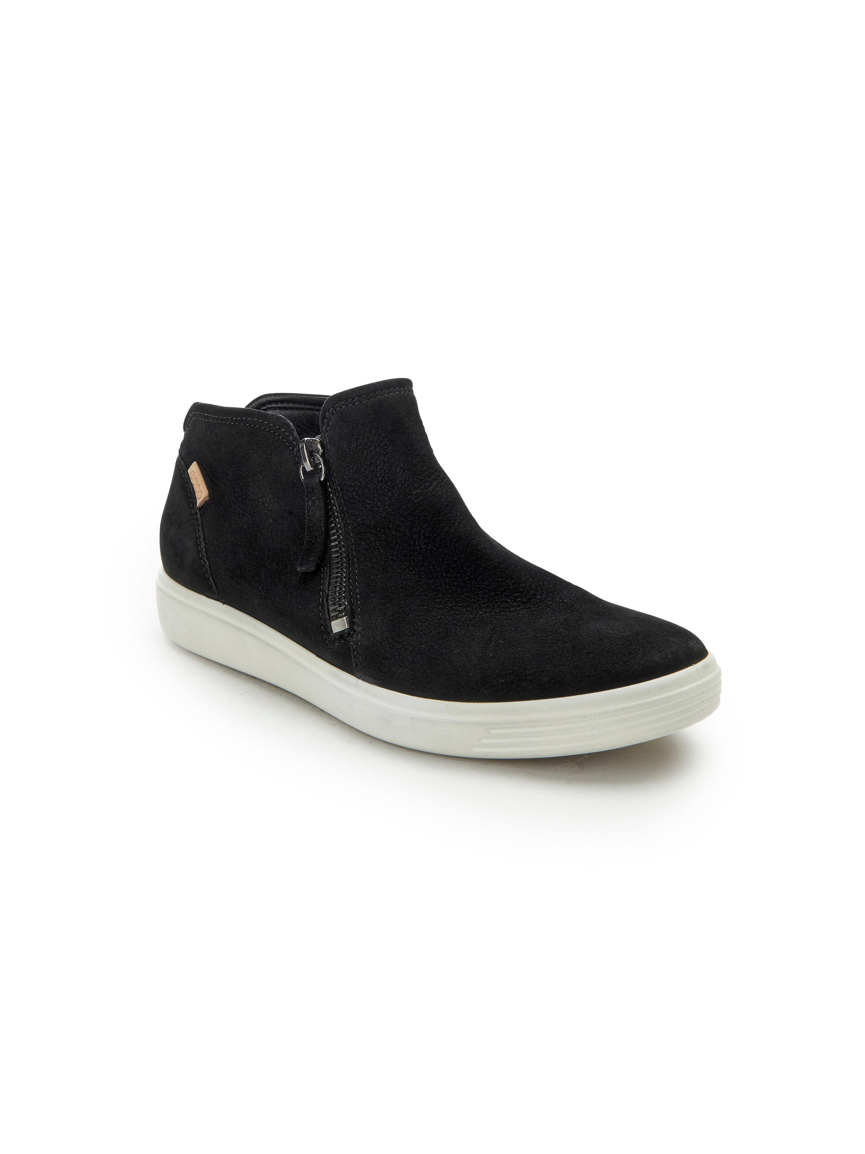 Ecco - Stiefelette Soft 7 aus 100% Leder - Schwarz Gute Qualität beliebte Schuhe