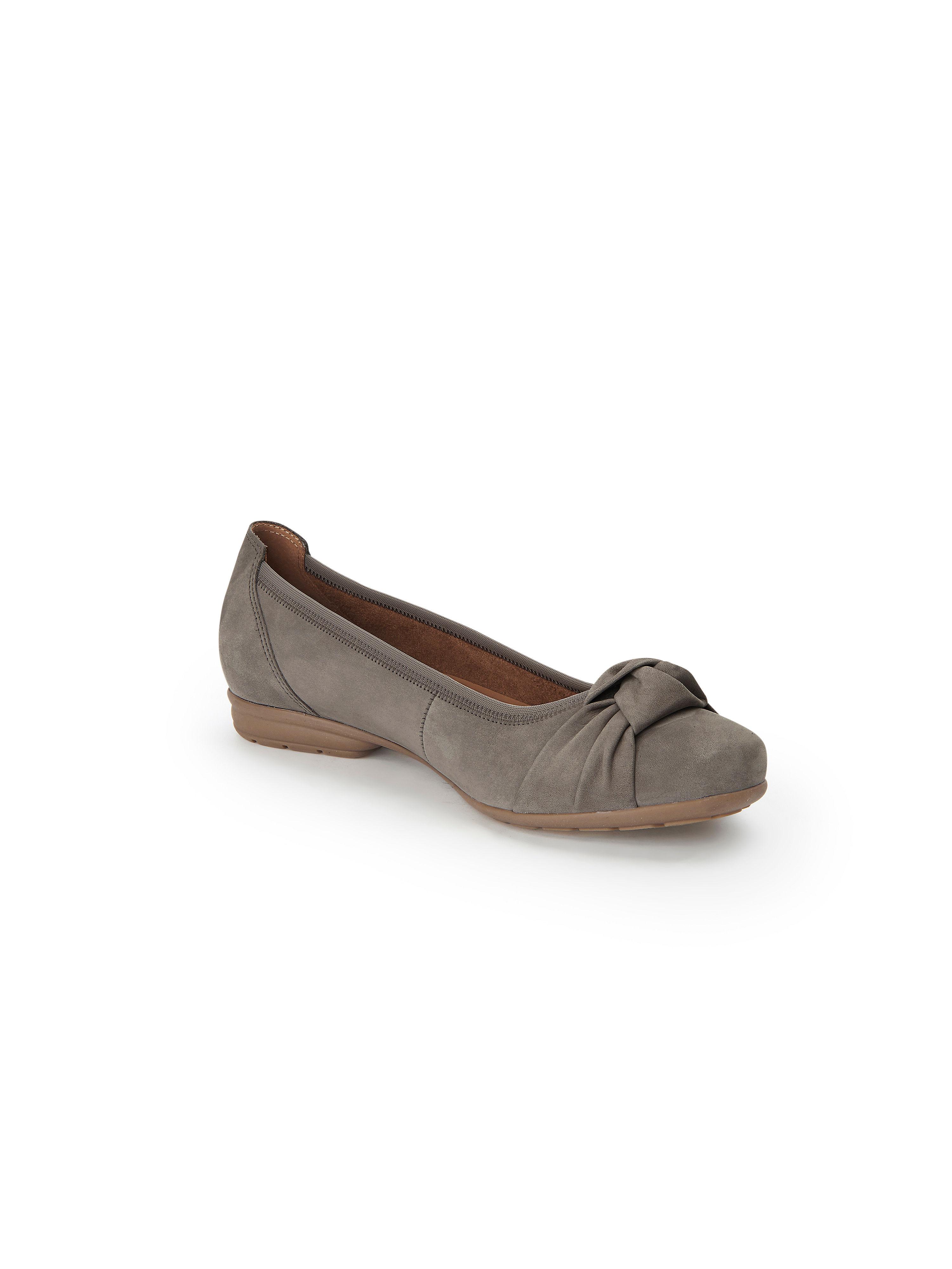 Gabor - Ballerina aus 100% Leder - Helltaupe Gute Qualität beliebte Schuhe