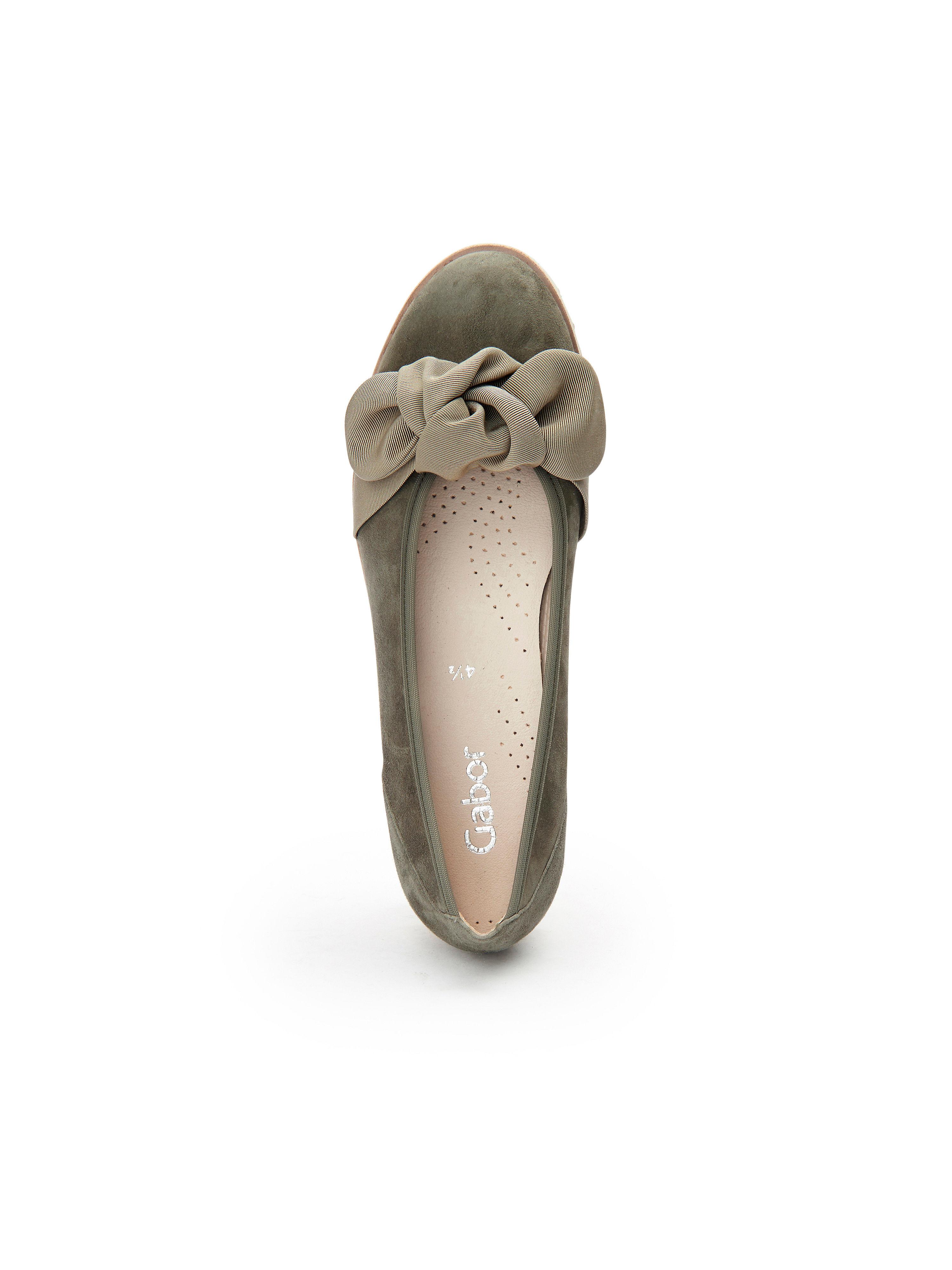 Gabor - Ballerina - beliebte Olivgrün Gute Qualität beliebte - Schuhe 767e35