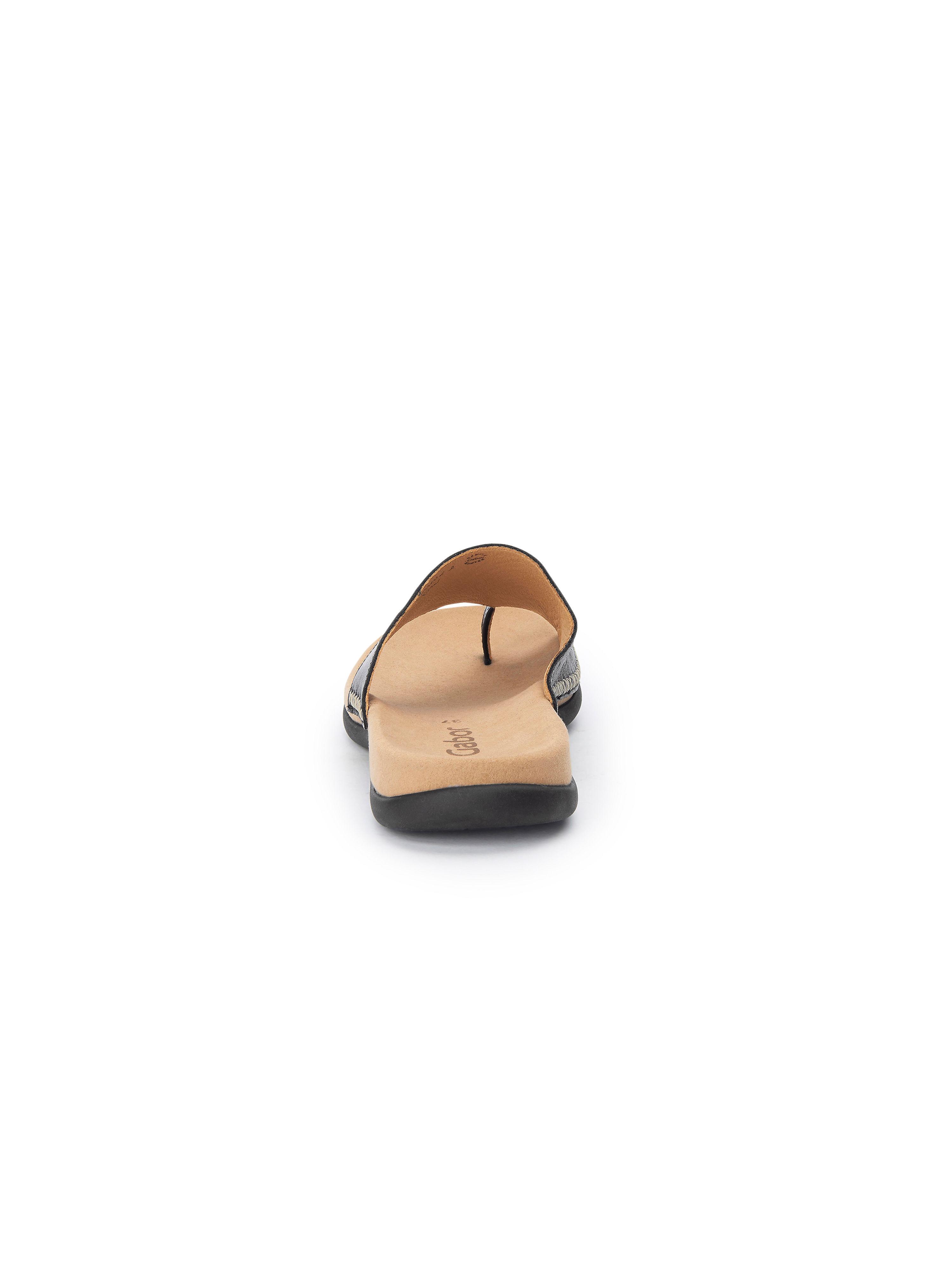 Gabor Leder - Pantolette aus 100% Leder Gabor - Schwarz Gute Qualität beliebte Schuhe 88de09