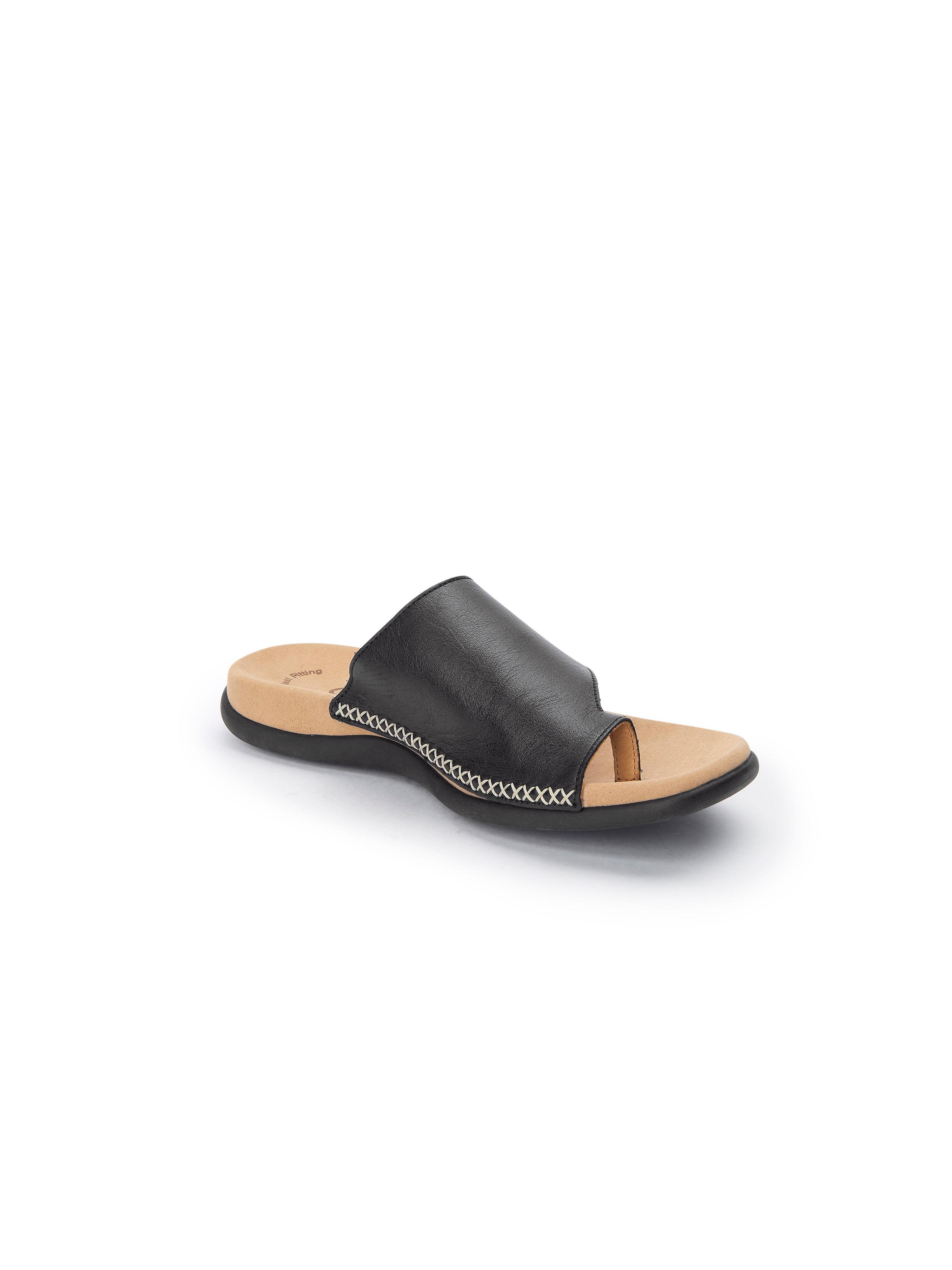 Gabor - Pantolette aus 100% Leder - Schwarz Gute Qualität beliebte Schuhe