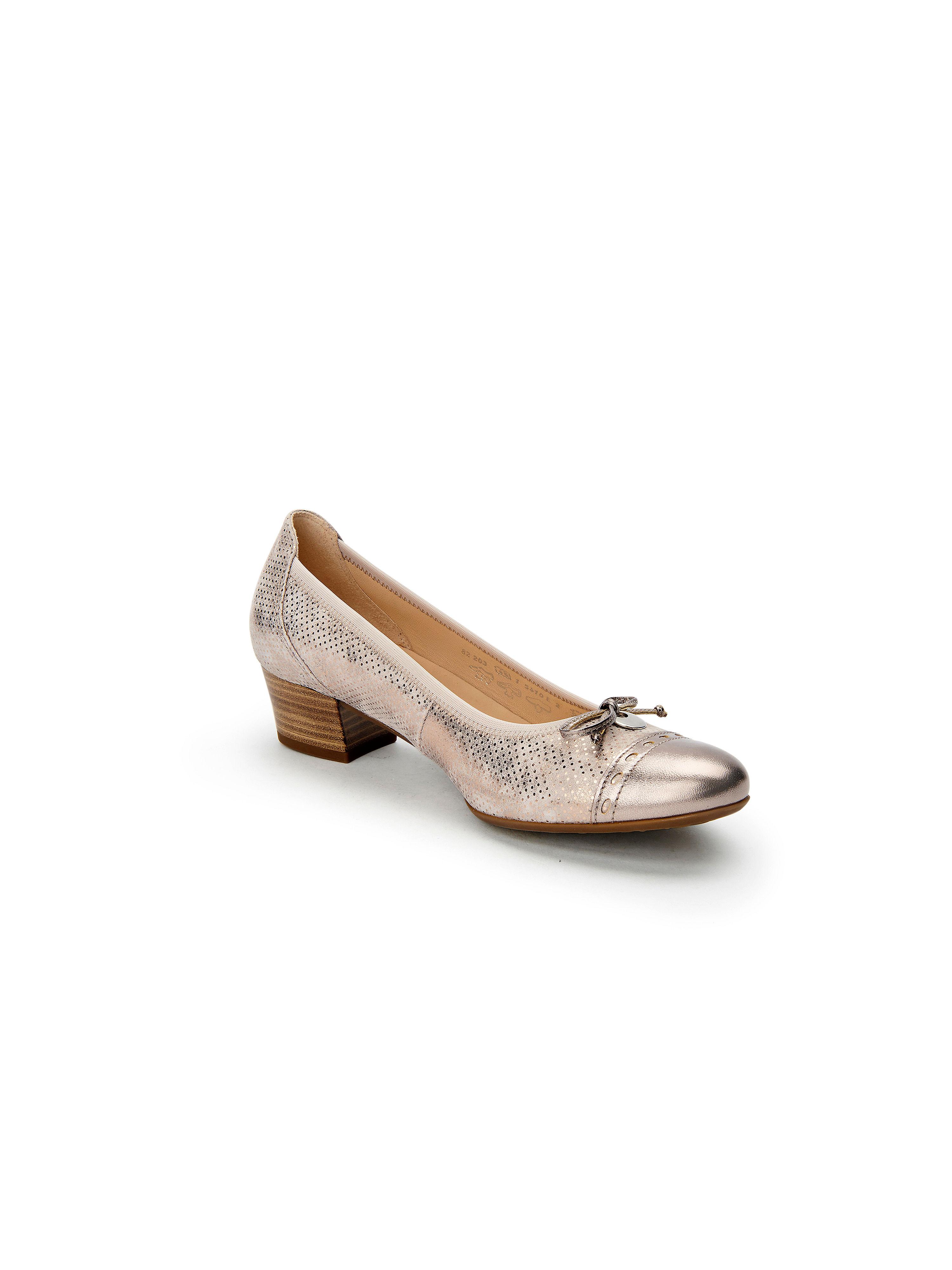 Gabor - Pumps aus 100% Leder - Taupe-Metallic Gute Qualität beliebte Schuhe