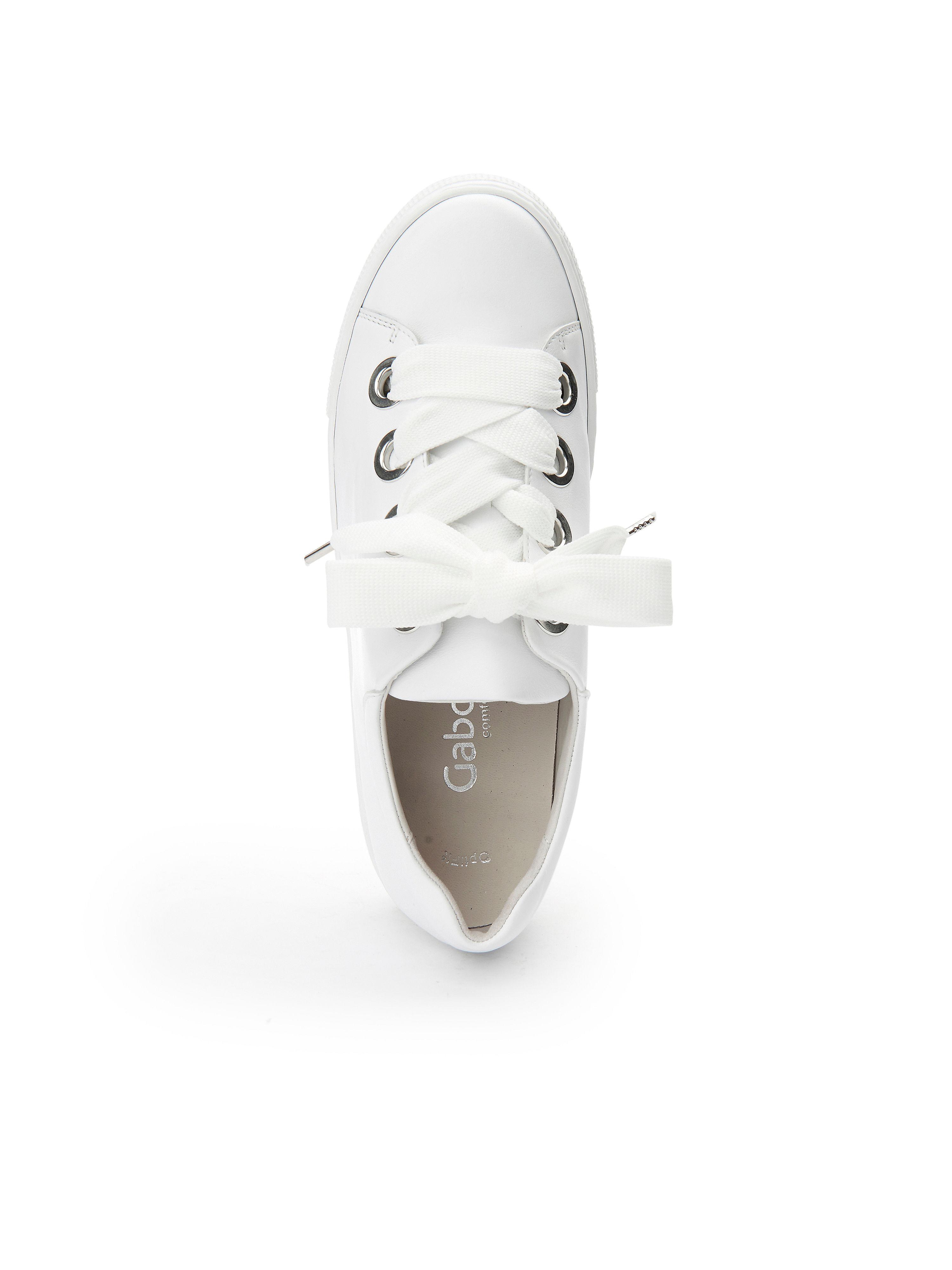 Gabor - Gute Sneaker aus 100% Leder - Weiß Gute - Qualität beliebte Schuhe 87203c