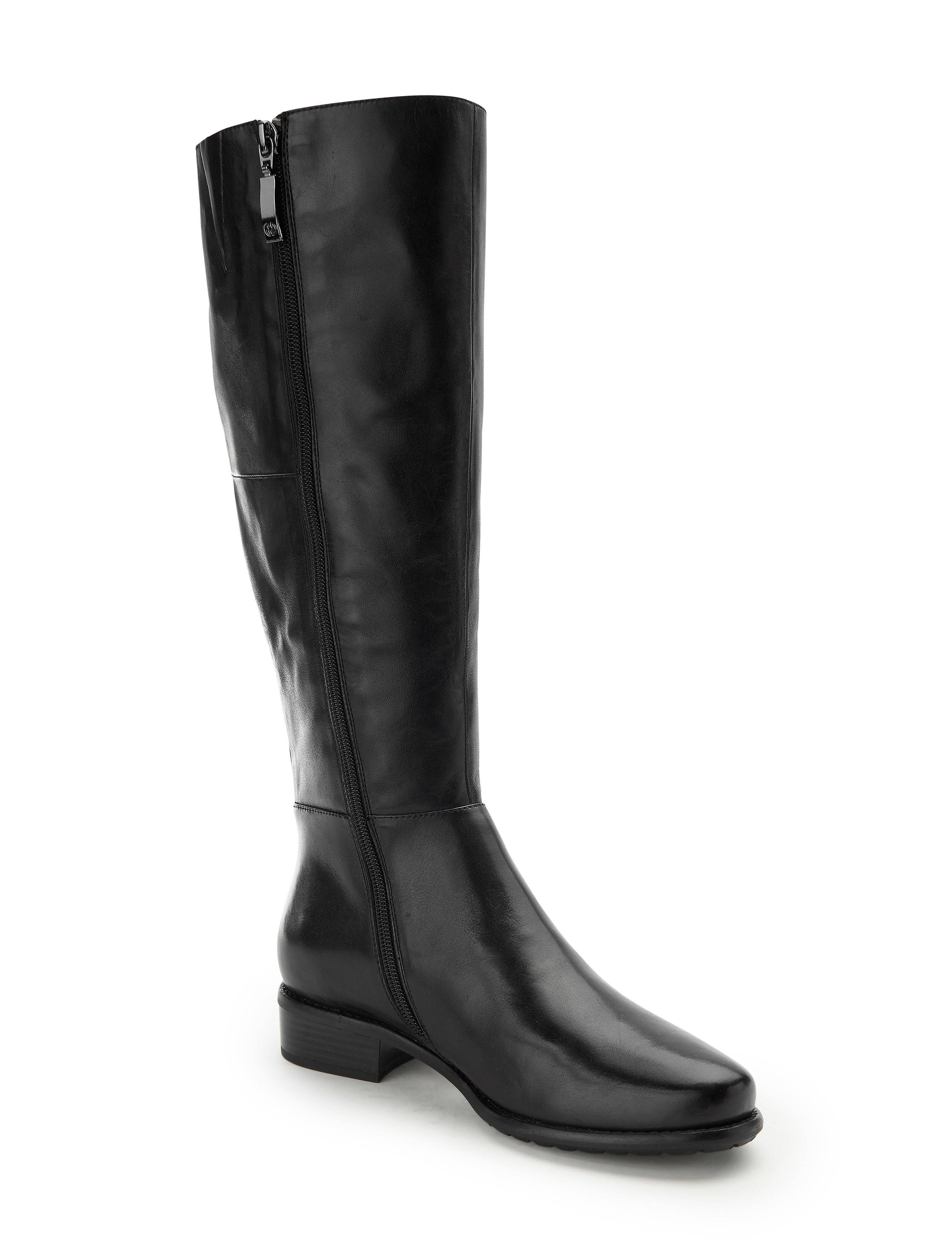 d37d871cea7be7 Gerry Weber - Langschaft-Stiefel mit variabler Schaftweite beliebte -  Schwarz Gute Qualität beliebte Schaftweite Schuhe 69d654