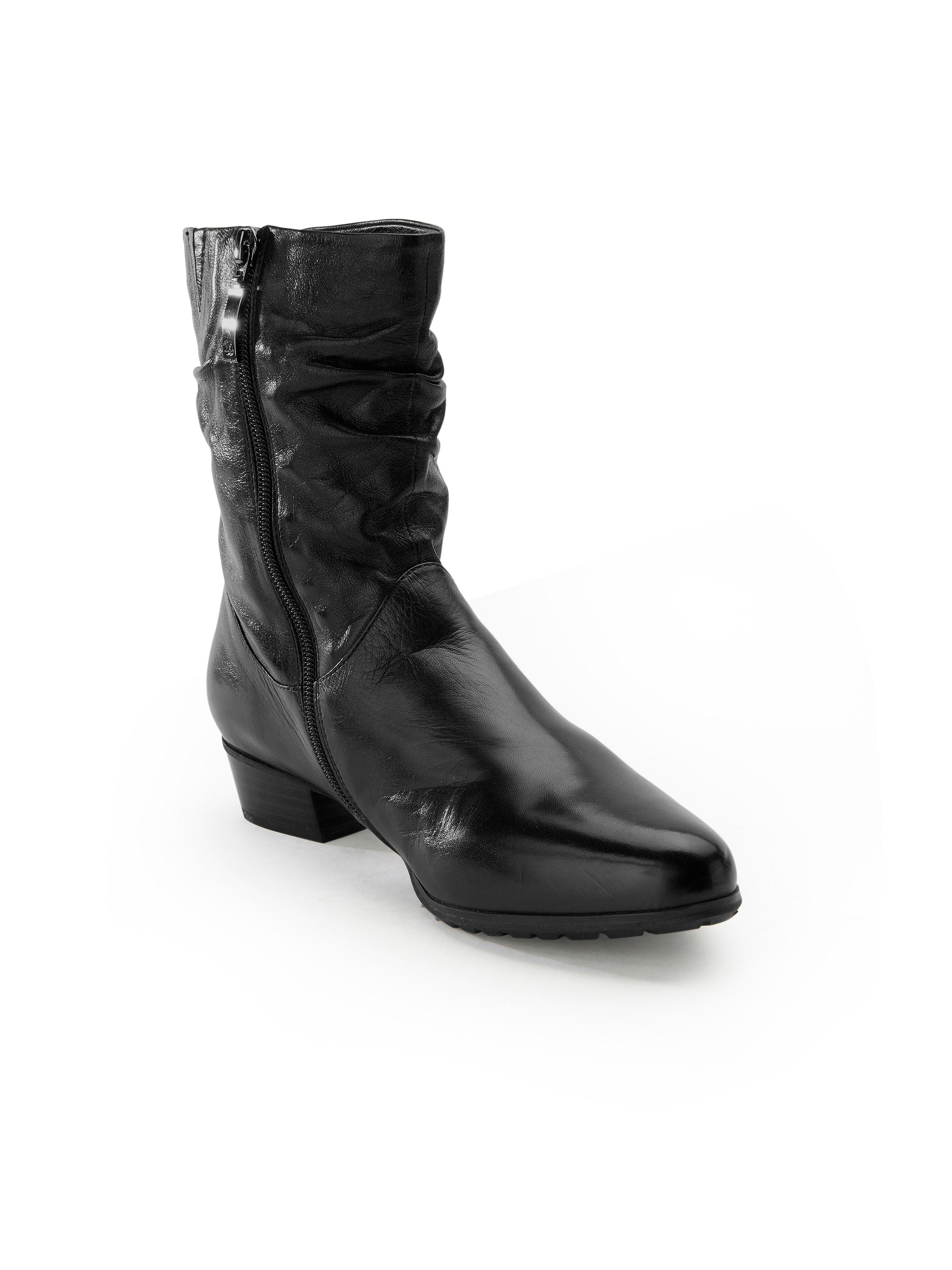 Gerry Weber - Stiefelette aus 100% Leder - Schwarz Gute Qualität beliebte Schuhe