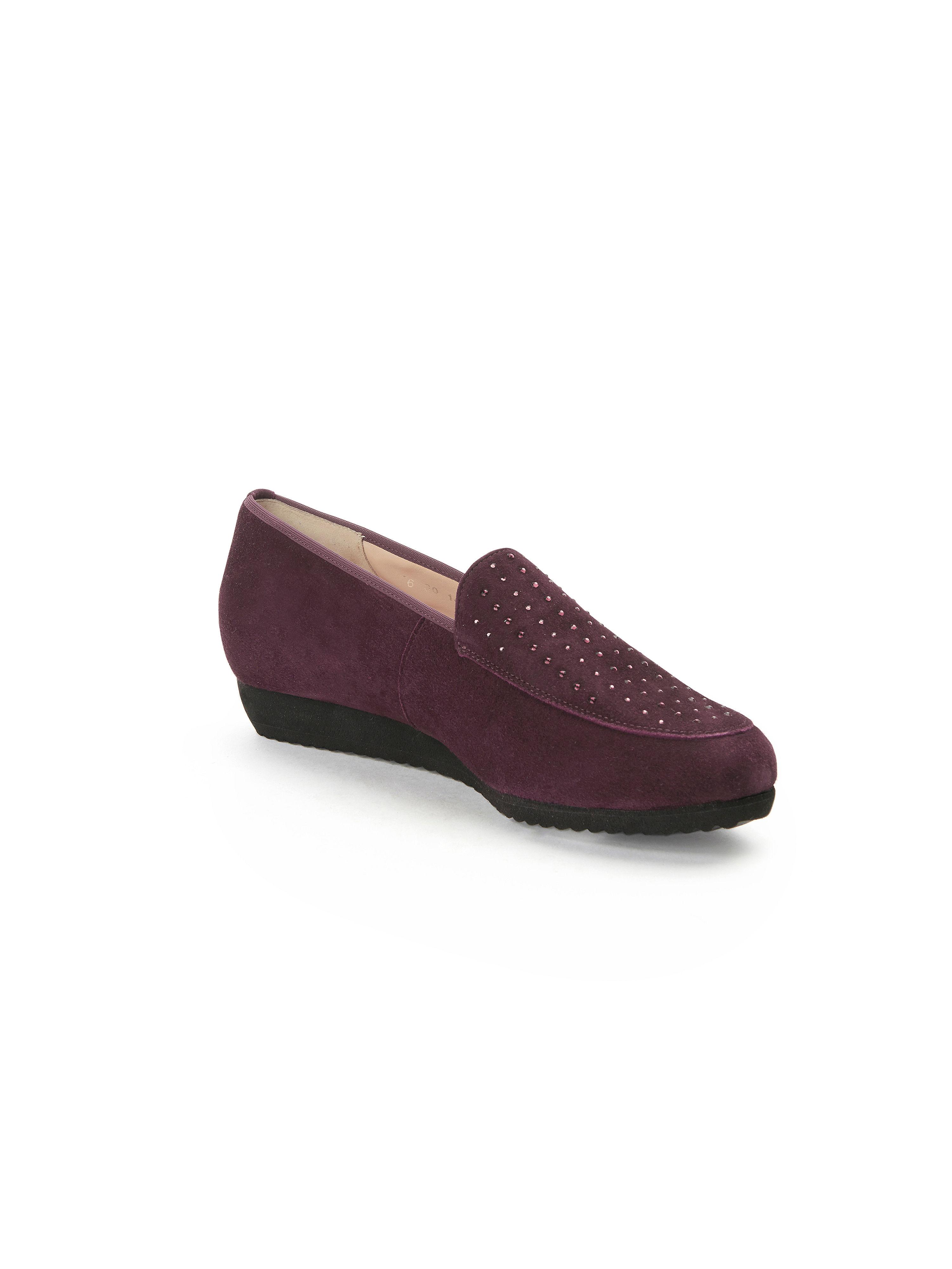 Hassia - Slipper Sanremo H aus 100% Leder - Burgund Gute Qualität beliebte Schuhe