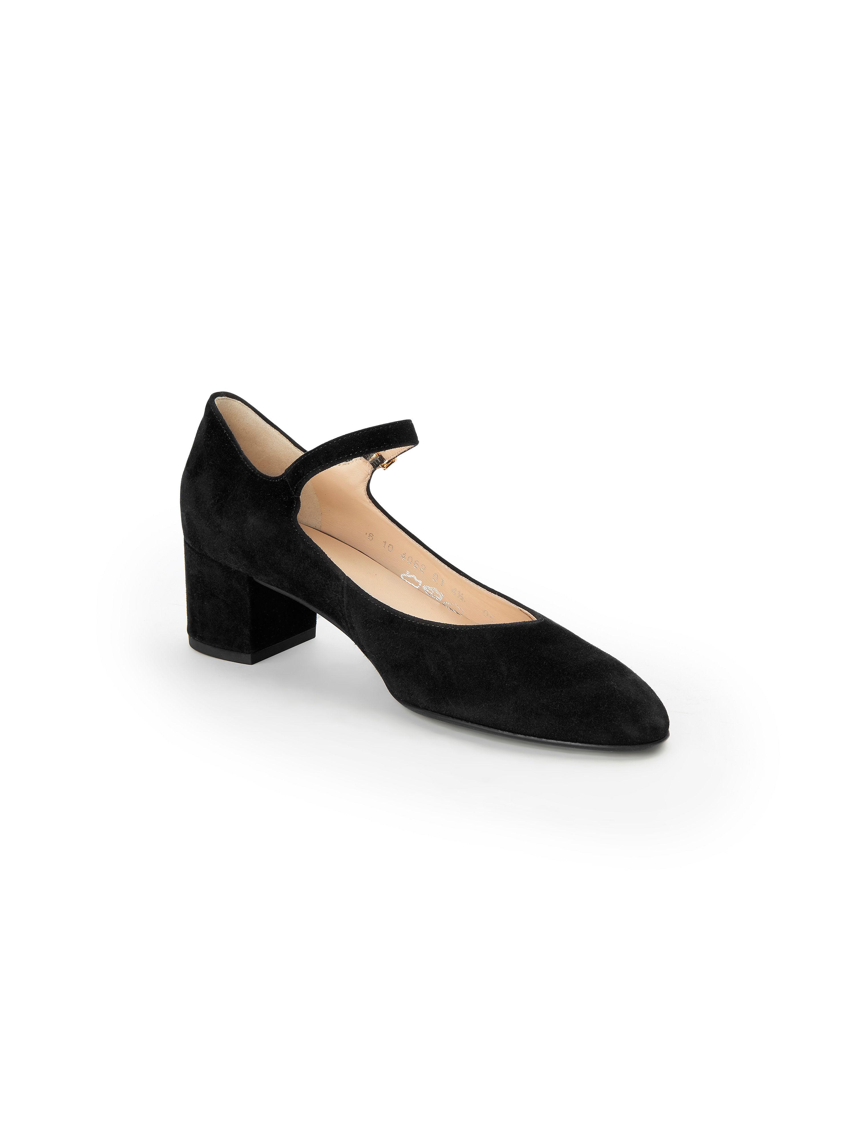 Högl - Spangen-Pumps aus 100% Leder - Schwarz Gute Qualität beliebte Schuhe